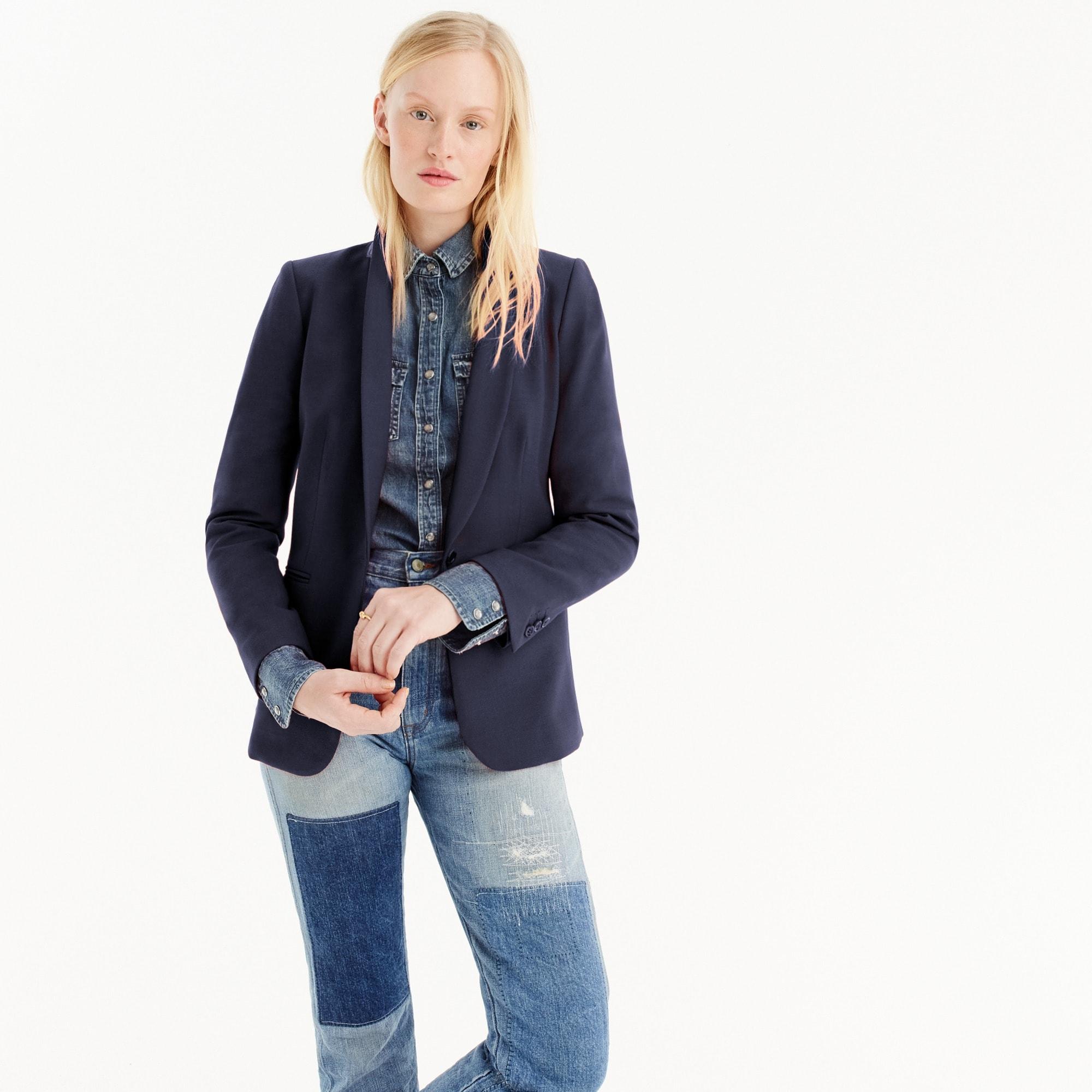 women's parke blazer - women's blazers