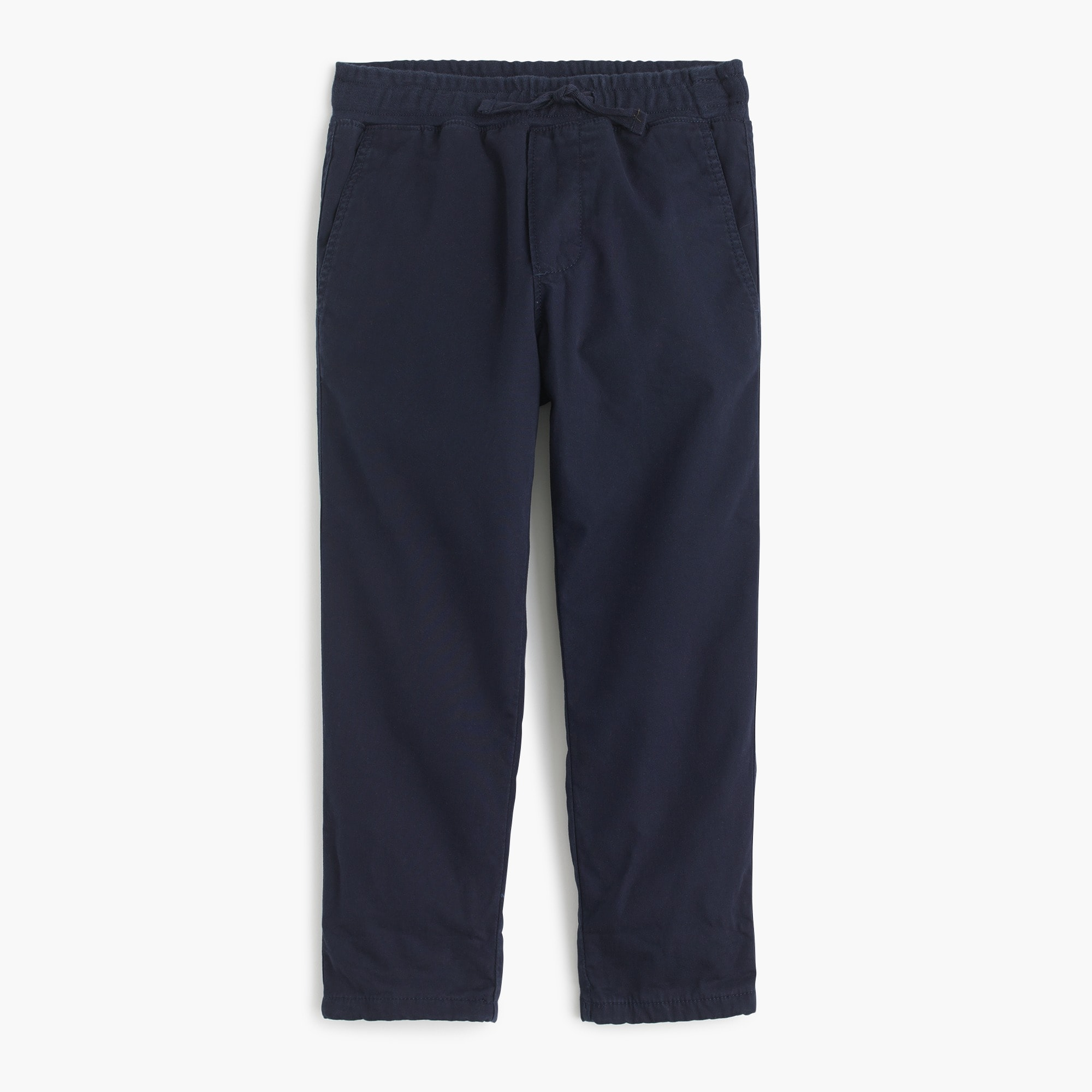 Boys' lined chino pull-on pant