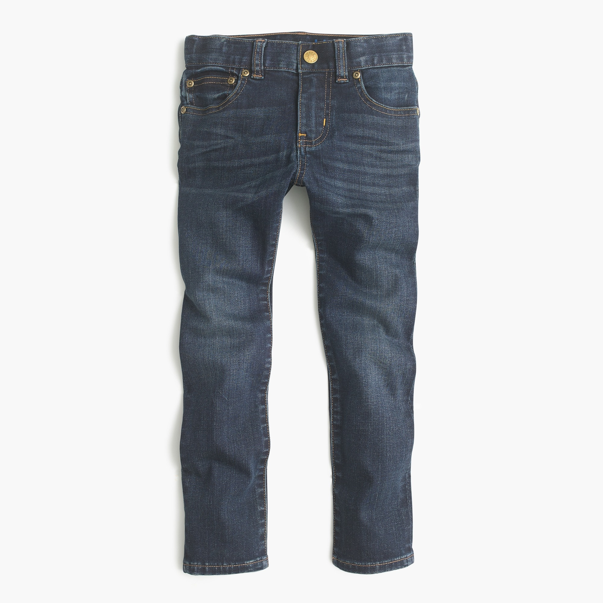 Boys' dark-wash jean in stretch skinny fit
