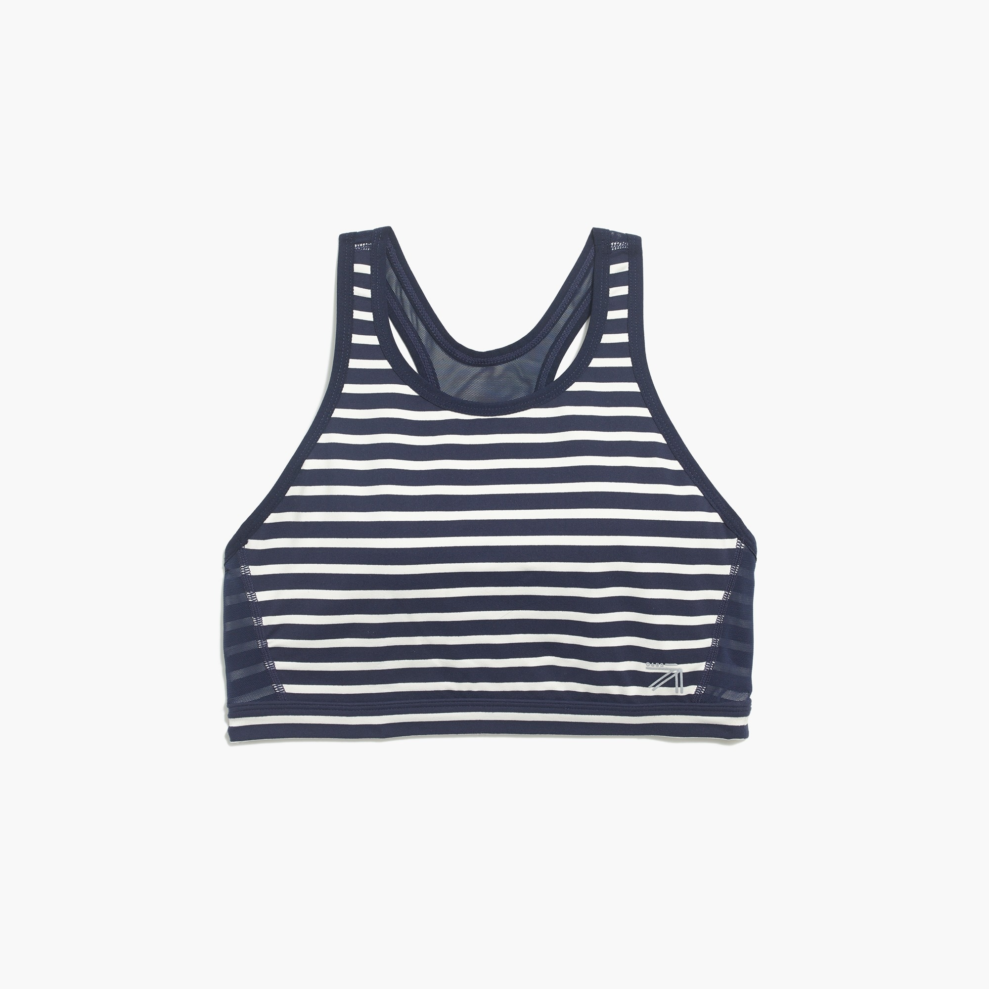 Image 2 for New Balance for J.crew performance mesh-back sports bra in stripe