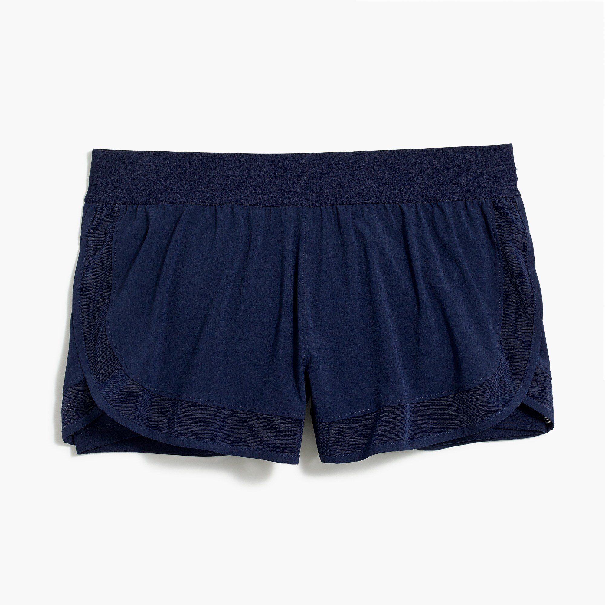 New Balance® for J.Crew running short with mesh inserts