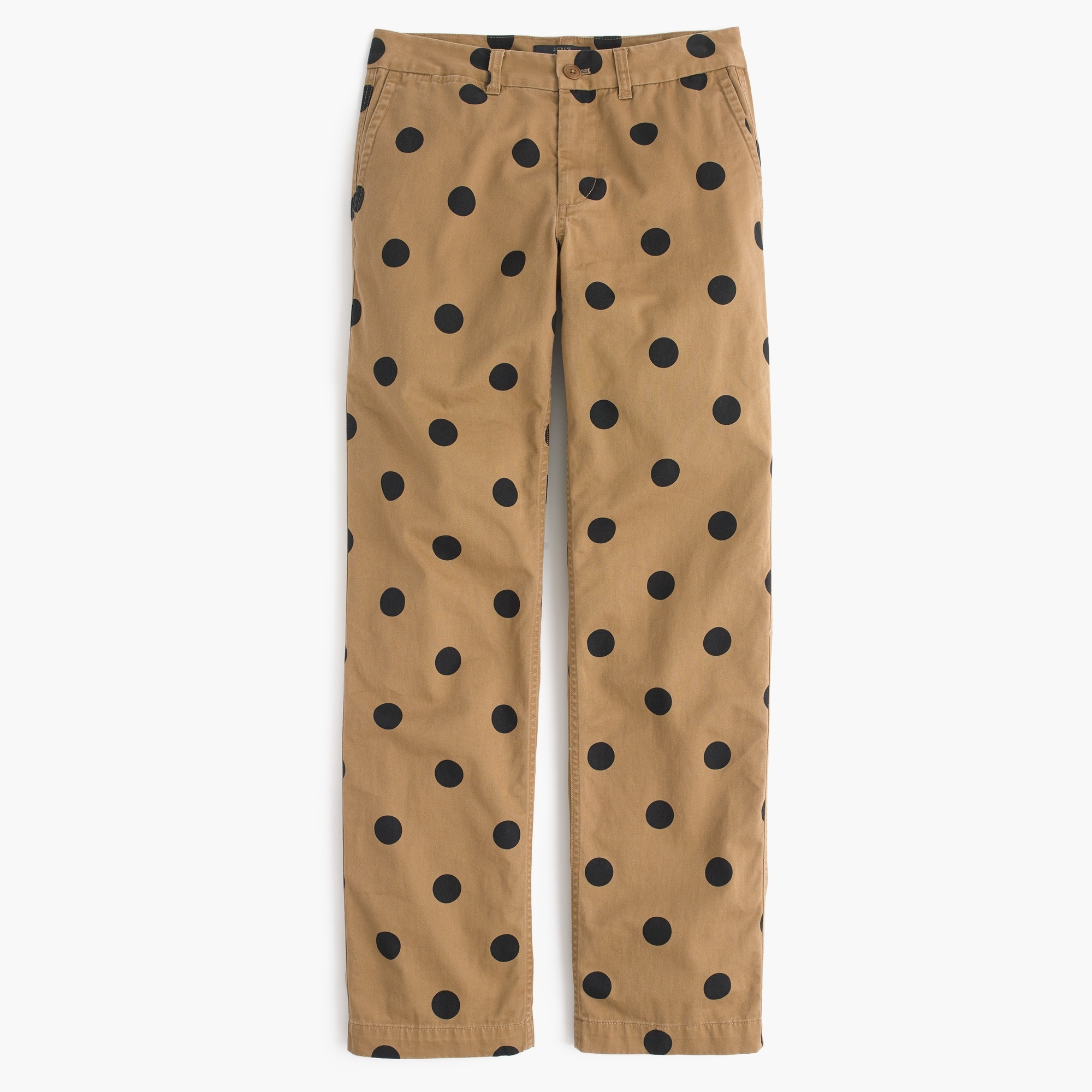 Image 2 for Tall boyfriend chino pant in polka dot