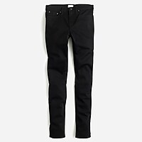 "Tall 8"" toothpick jean in true black"