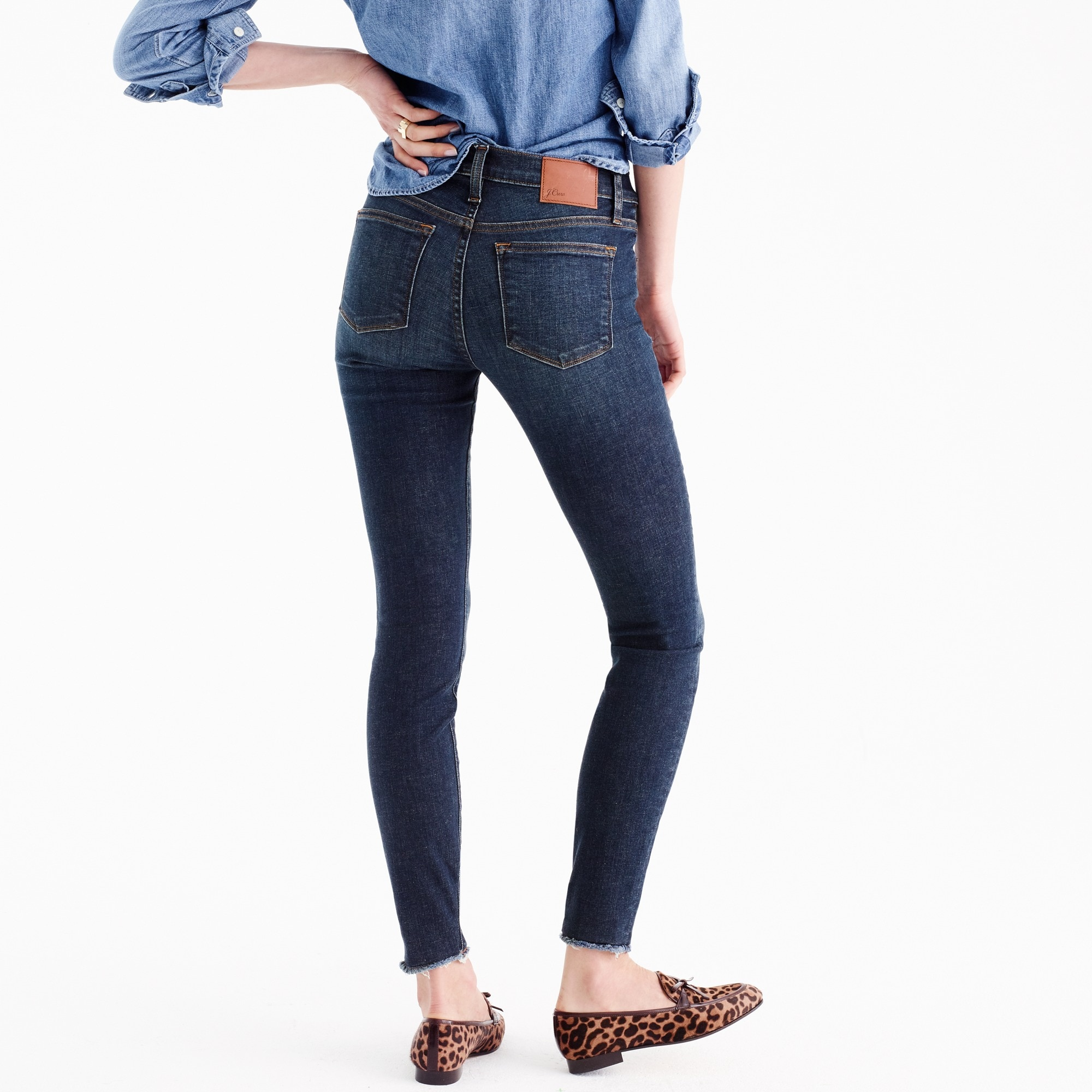 "8"" toothpick jean in Glendale wash"