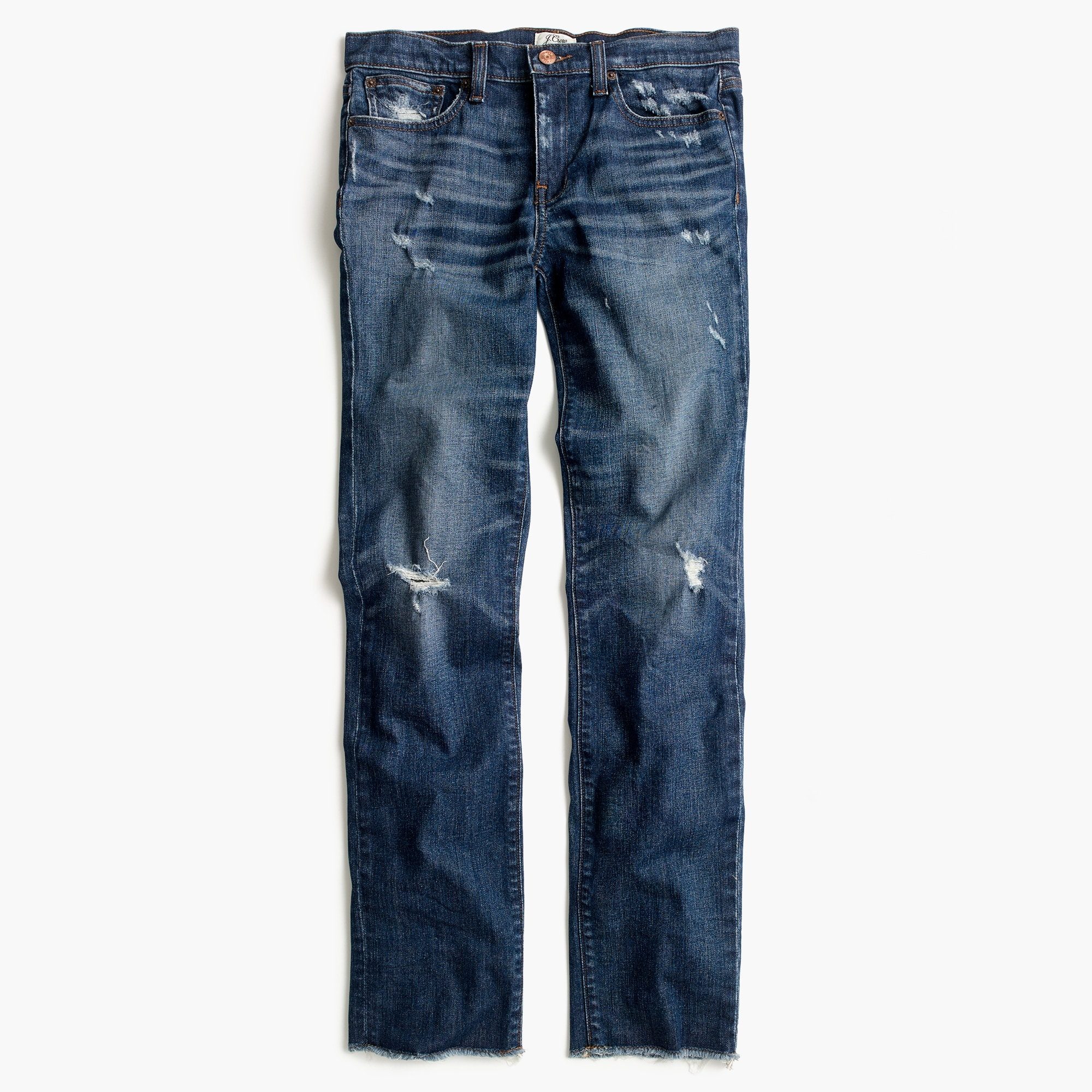 Slim boyfriend jean in Silverwood wash