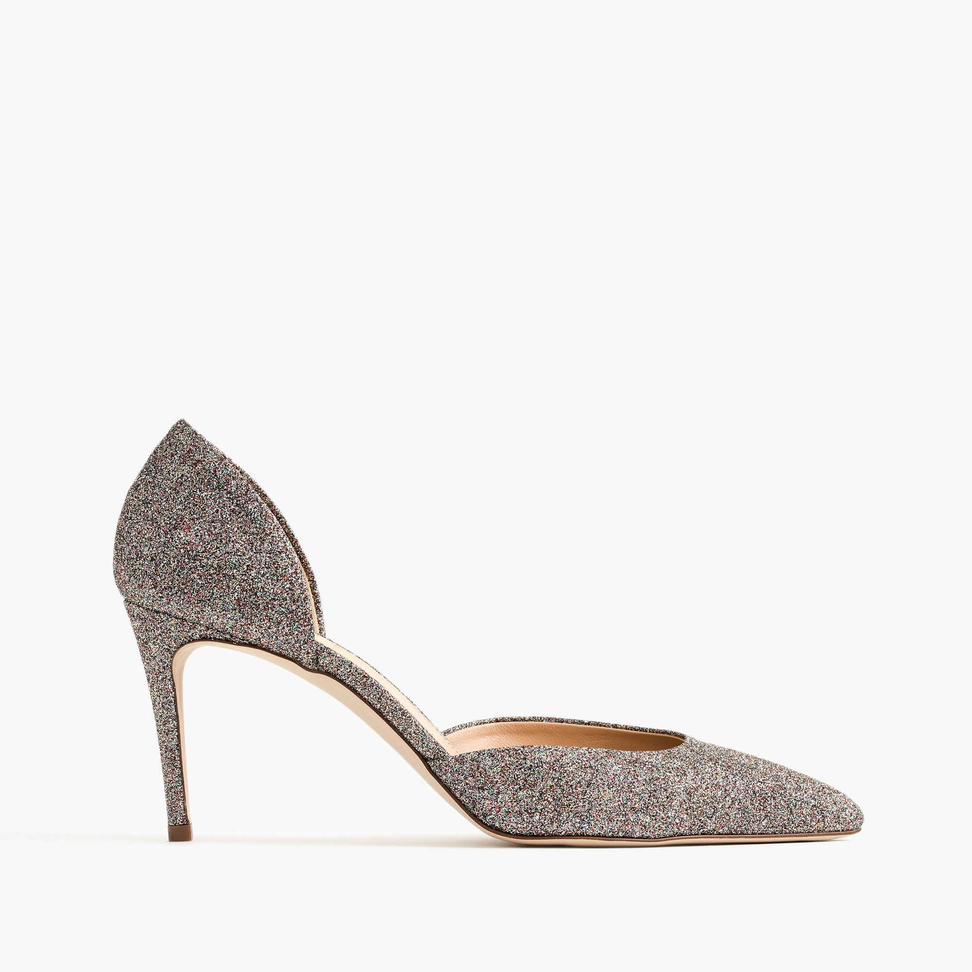 Lucie glitter pumps