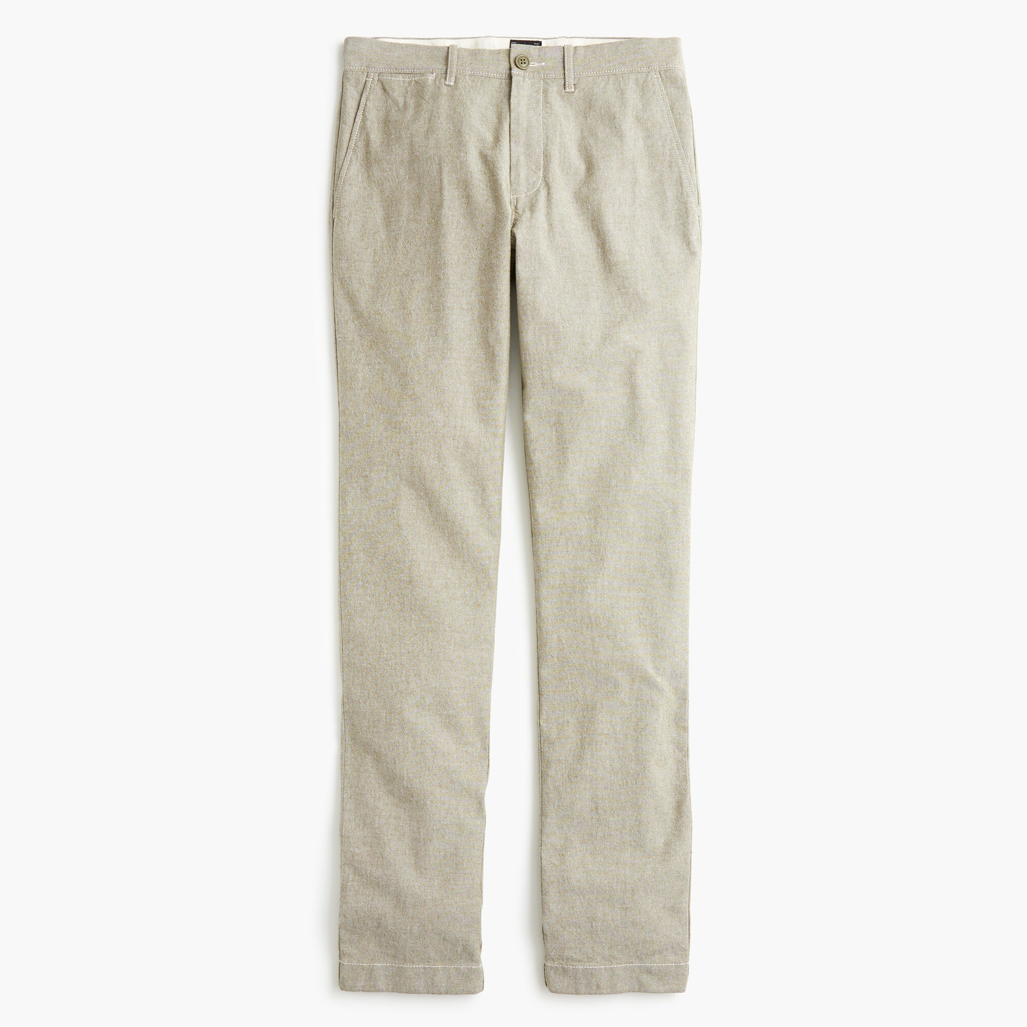 770 Straight-fit pant in stretch chambray