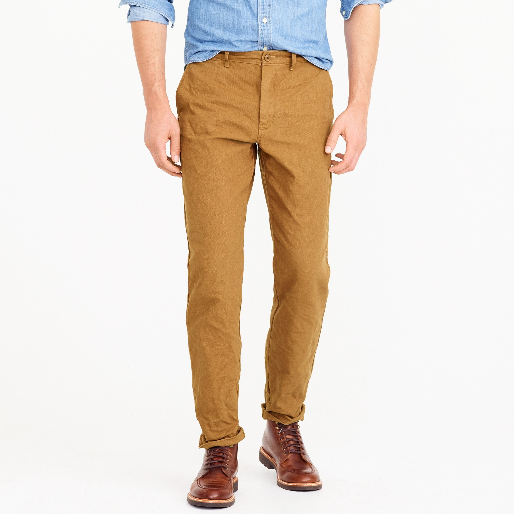 1040 Athletic-fit chino pant in garment-dyed canvas