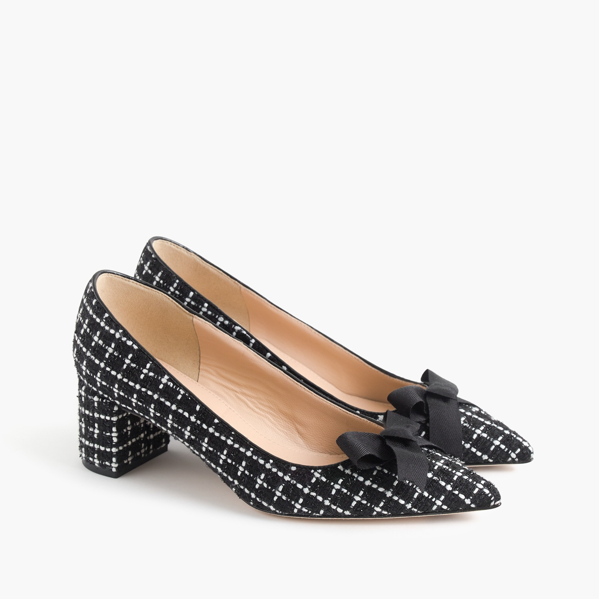 Avery tweed pumps