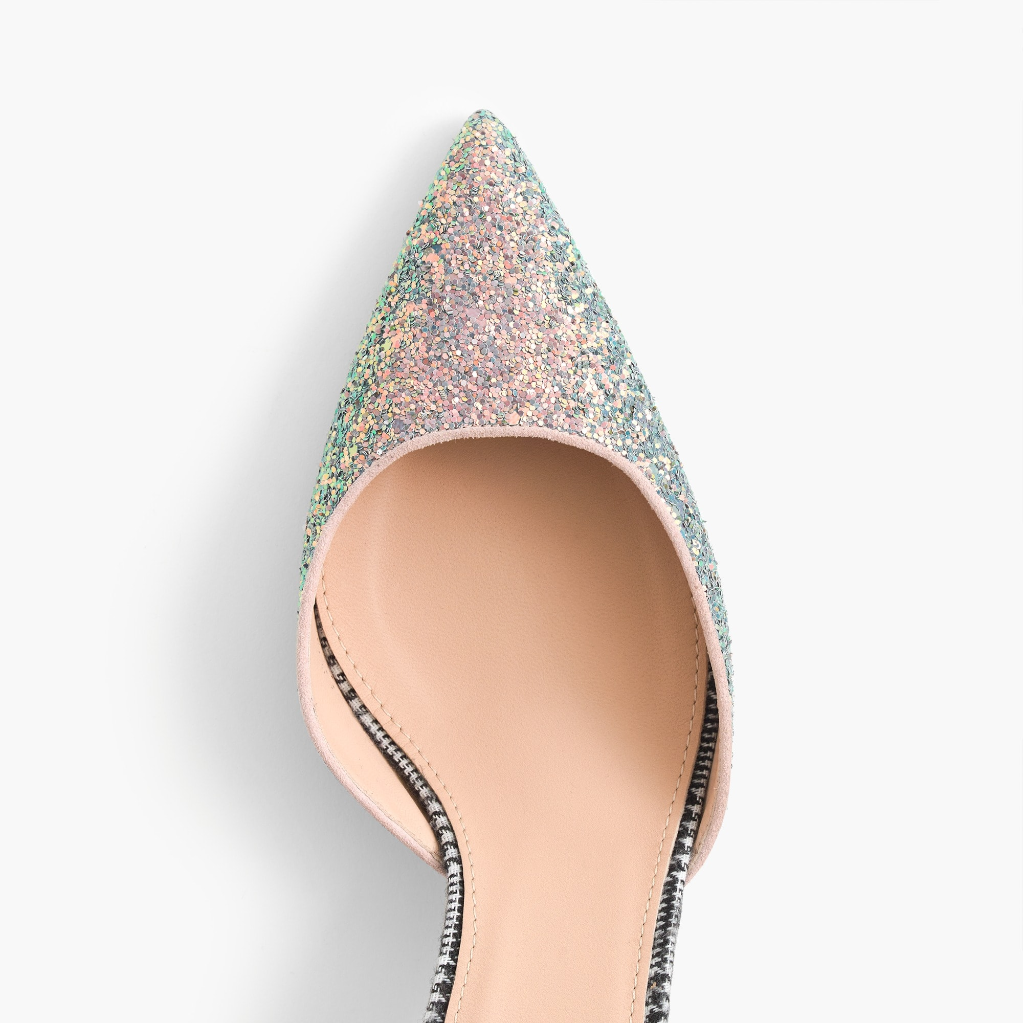 Image 2 for Avery glittery tweed pumps