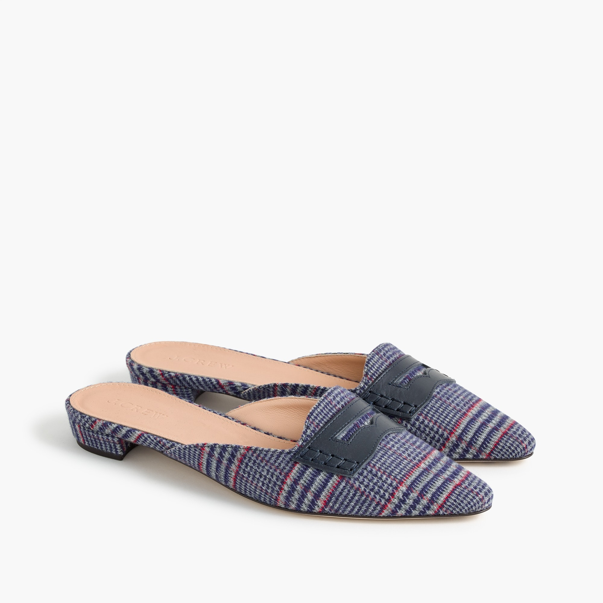 Image 3 for Tweed loafer mules