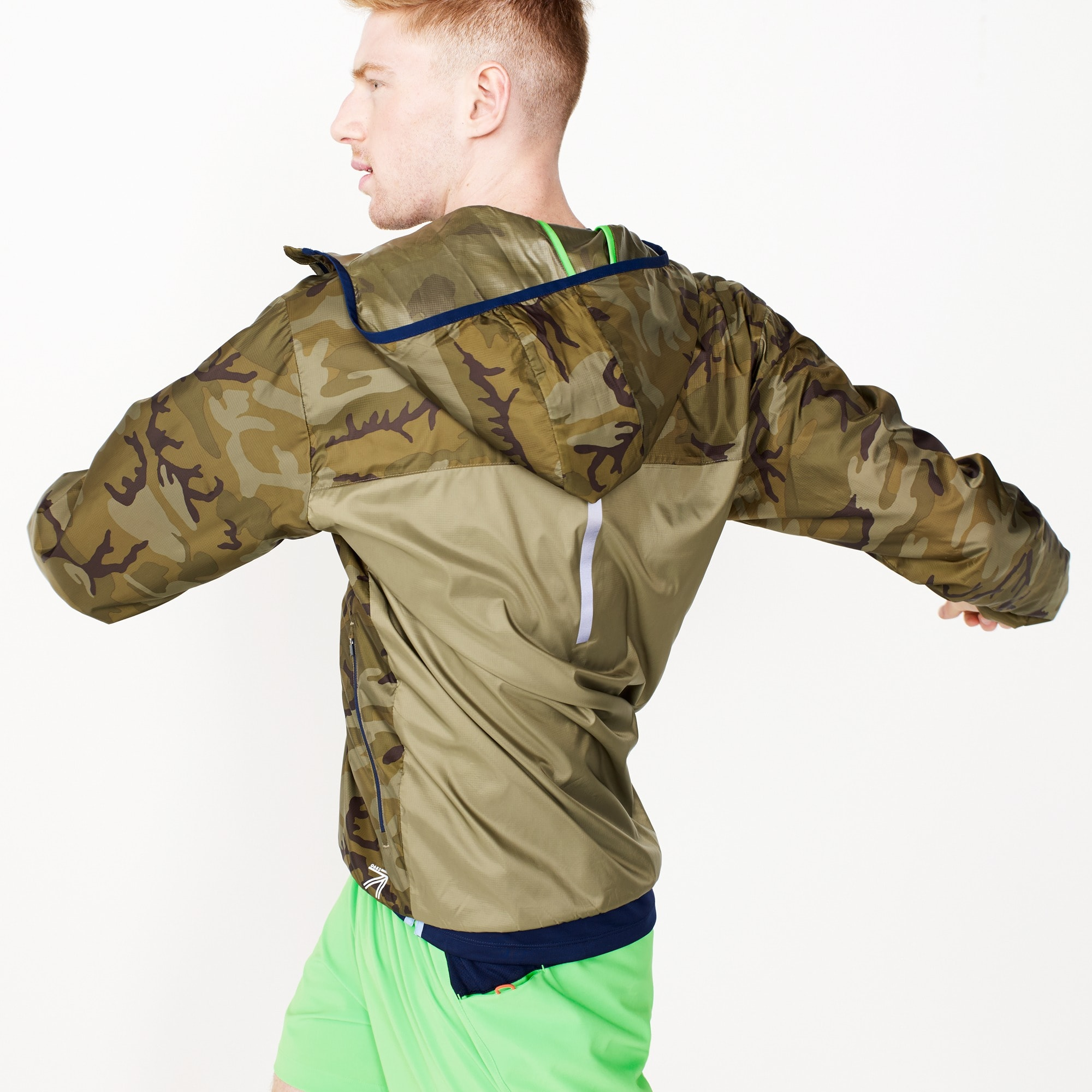 new balance® for j.crew windcheater jacket : men tops
