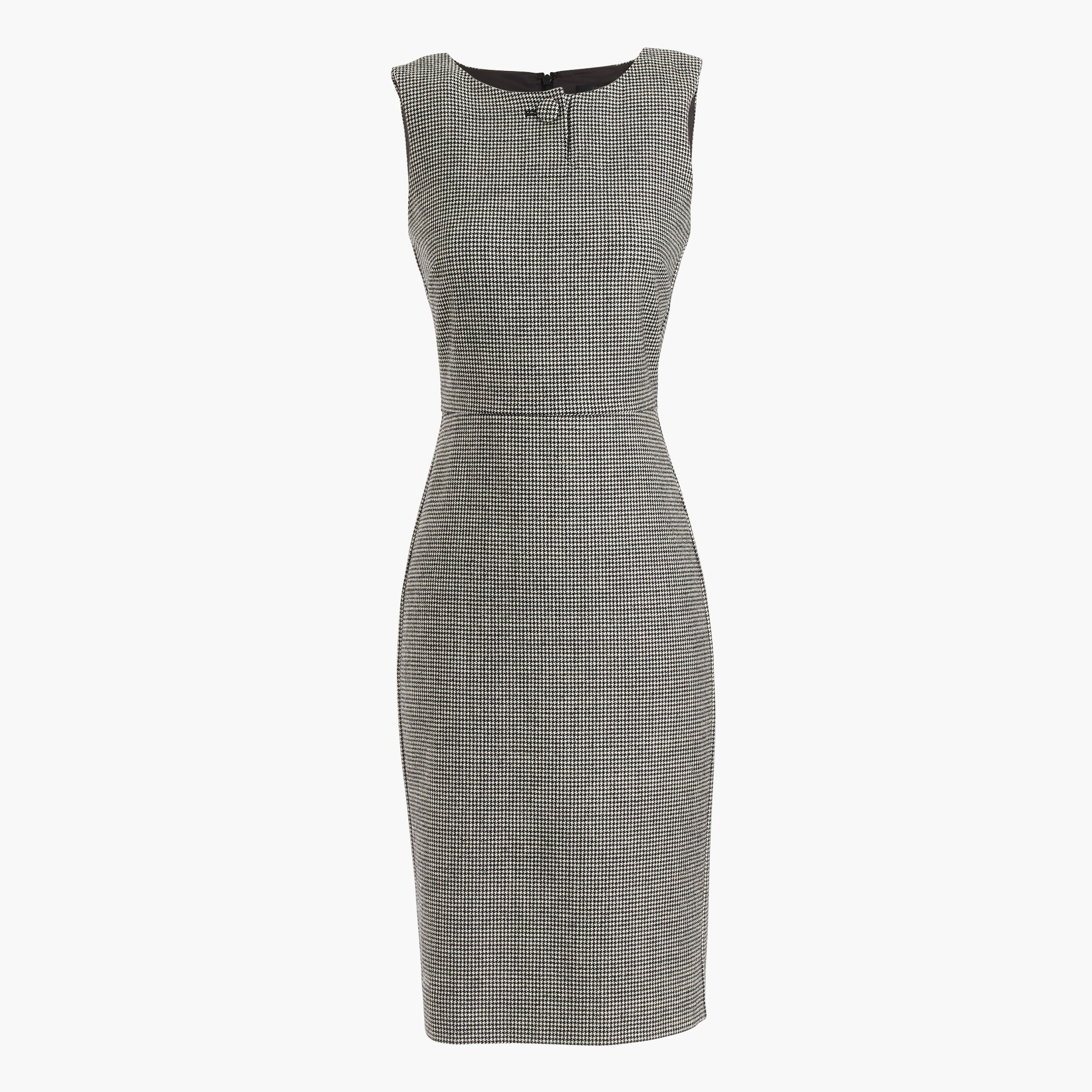 Image 2 for Houndstooth sheath dress