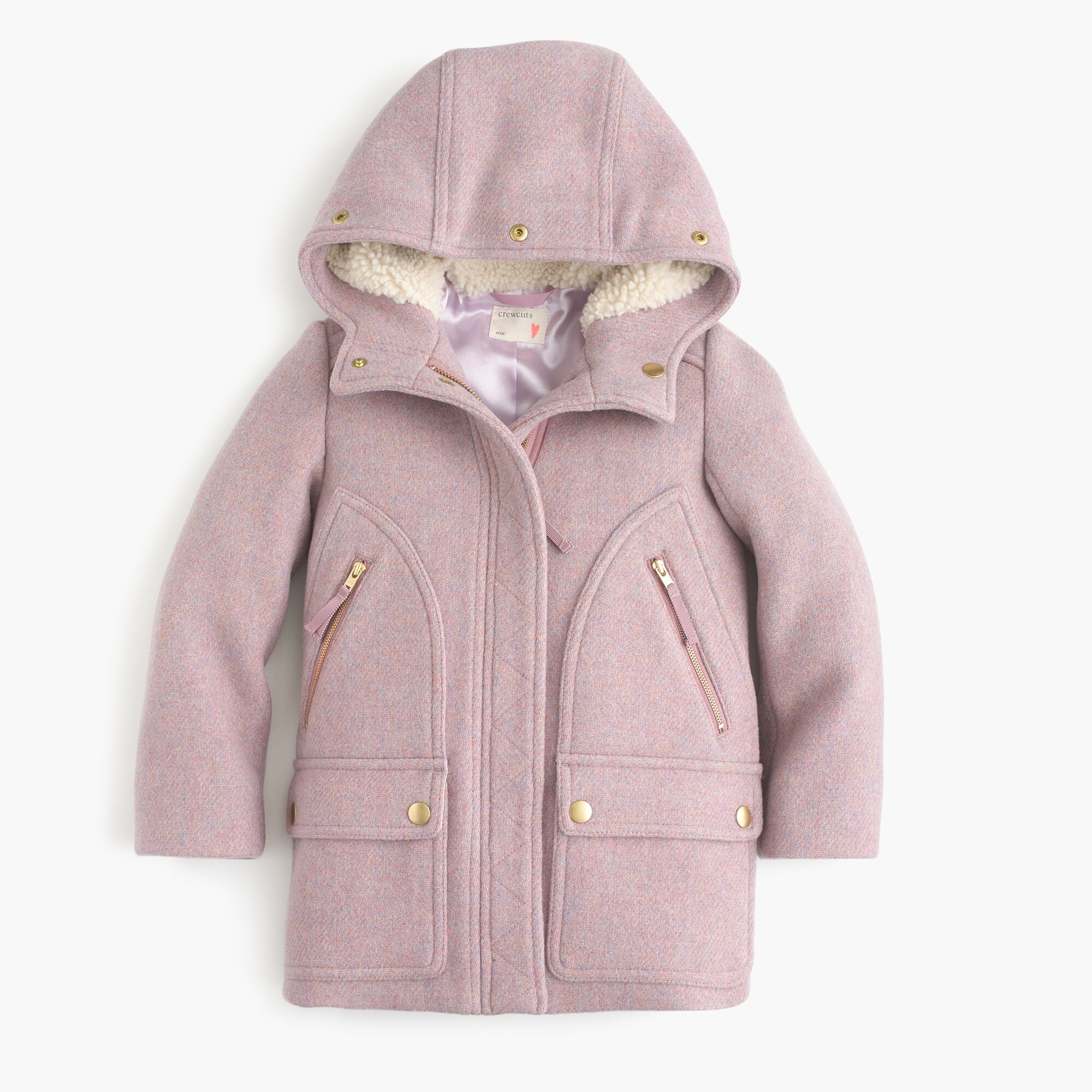 Girls' stadium-cloth chateau parka