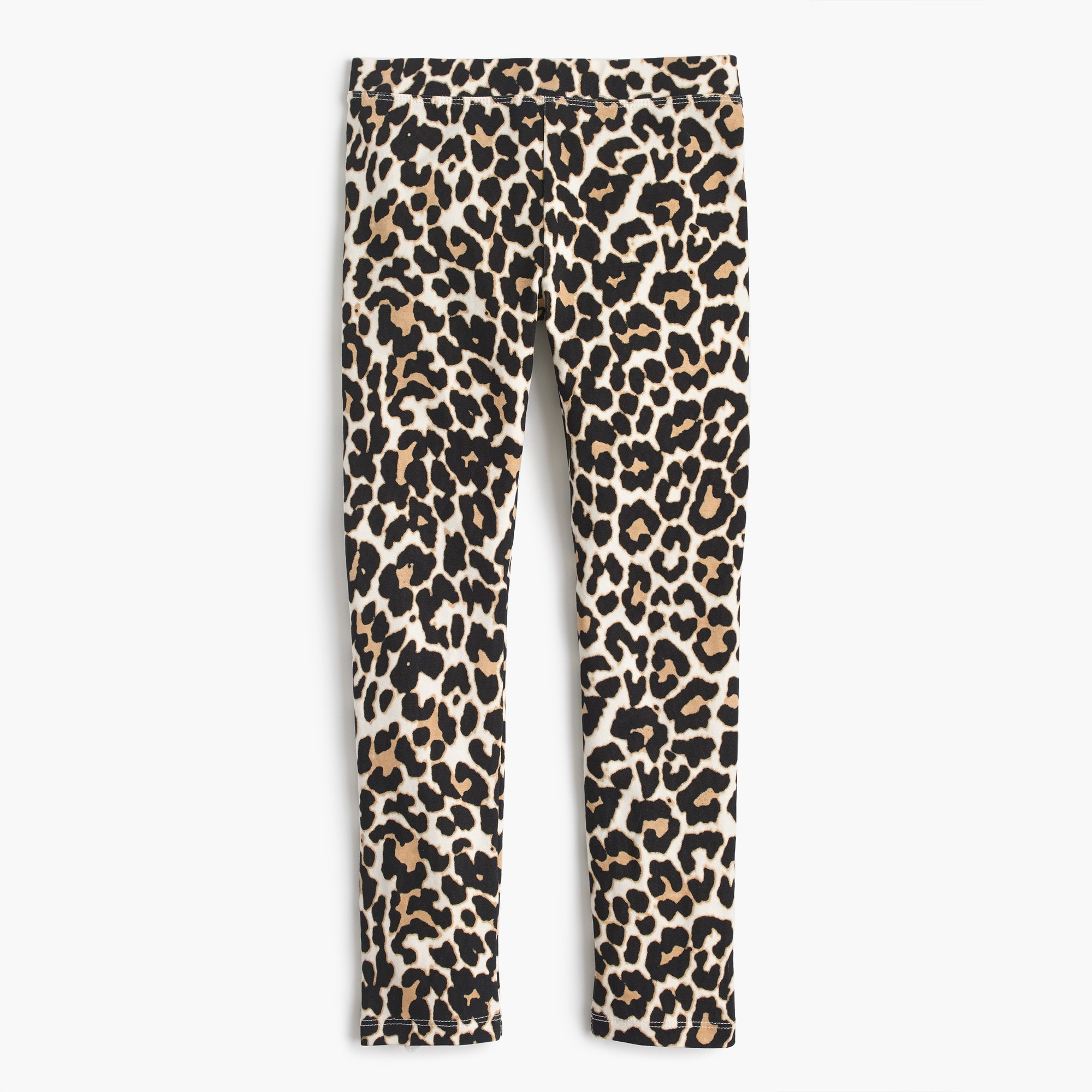 Girls' everyday leggings in leopard girl pants c