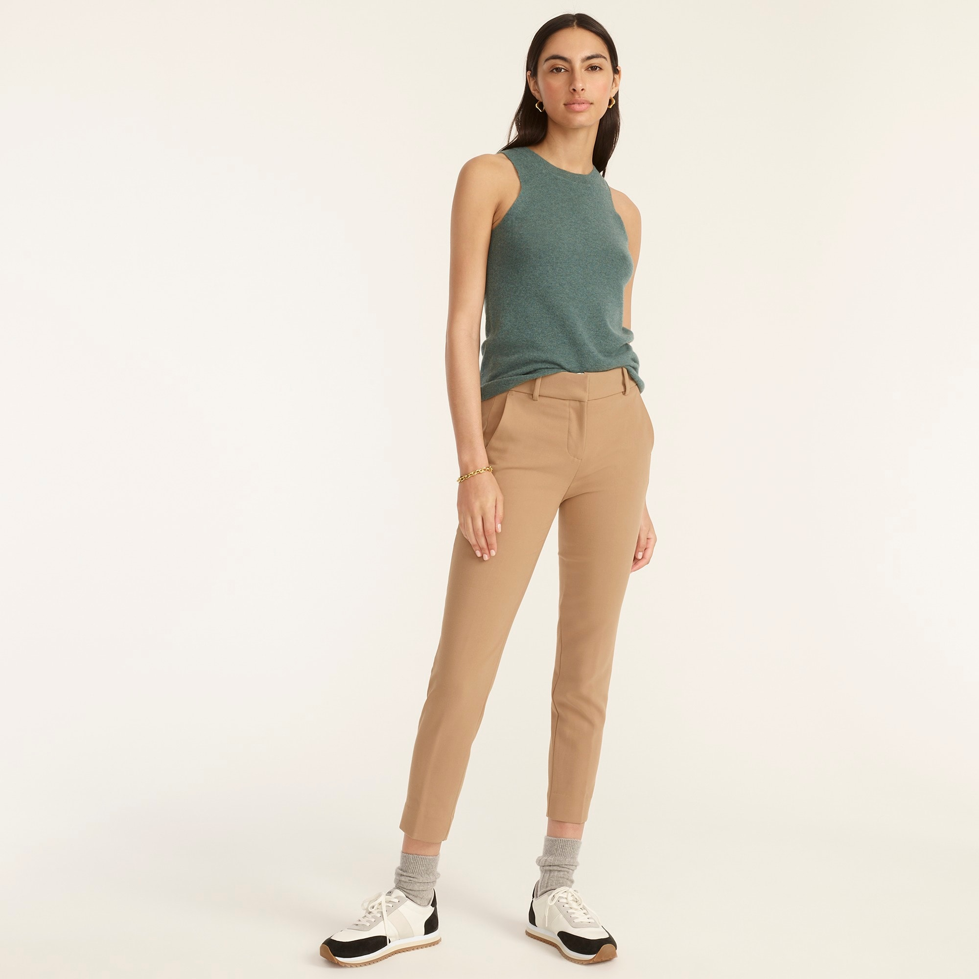 womens Tall Cameron slim crop pant in four-season stretch
