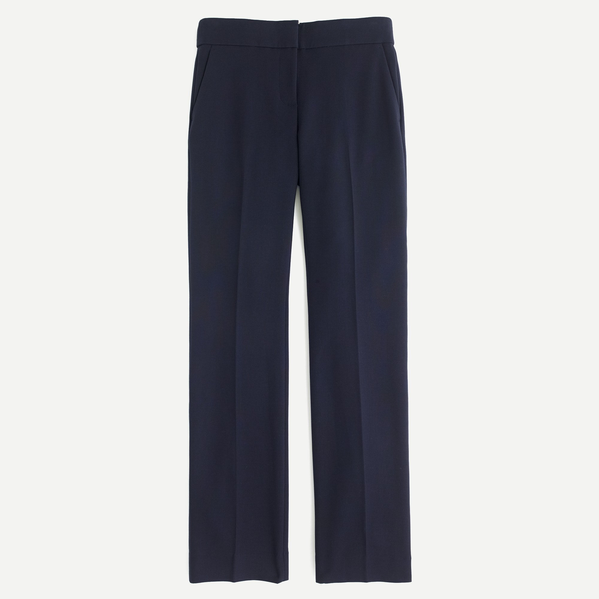 women's petite edie full-length trouser in four-season stretch - women's pants