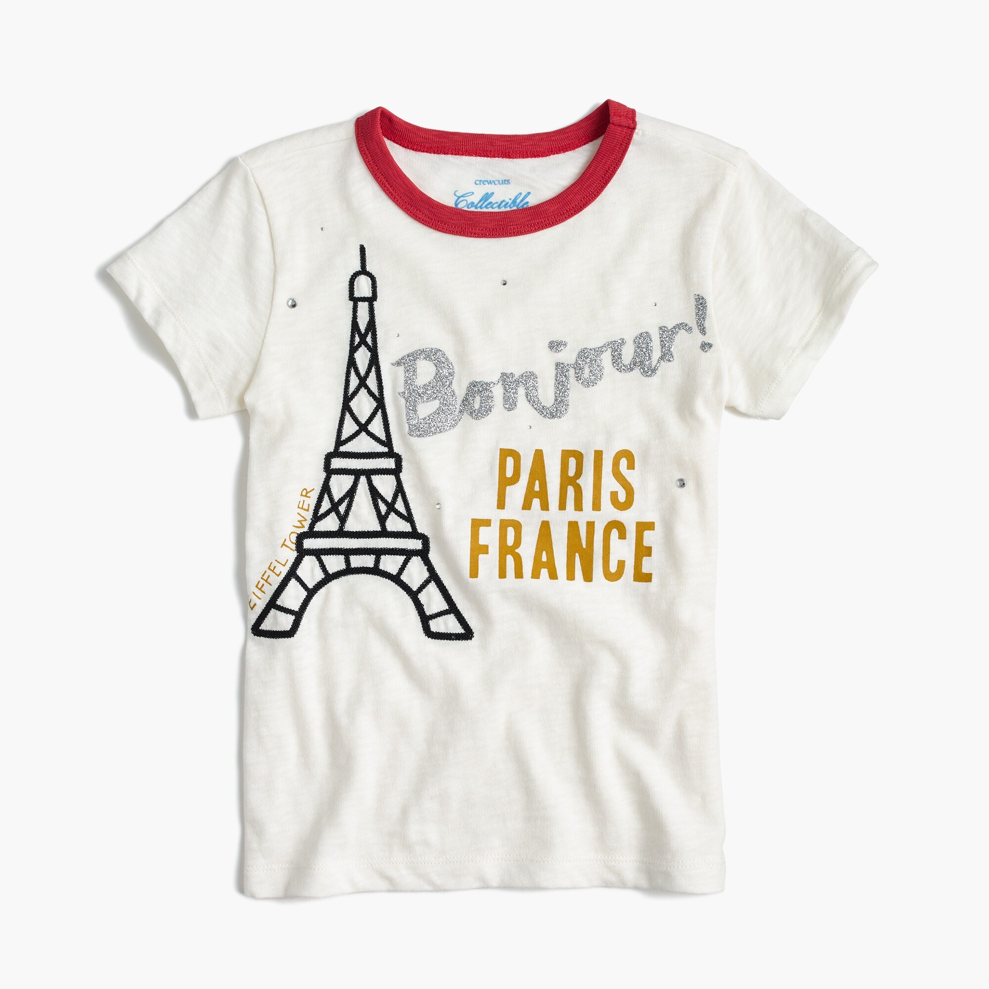 Girls' Eiffel Tower T-shirt