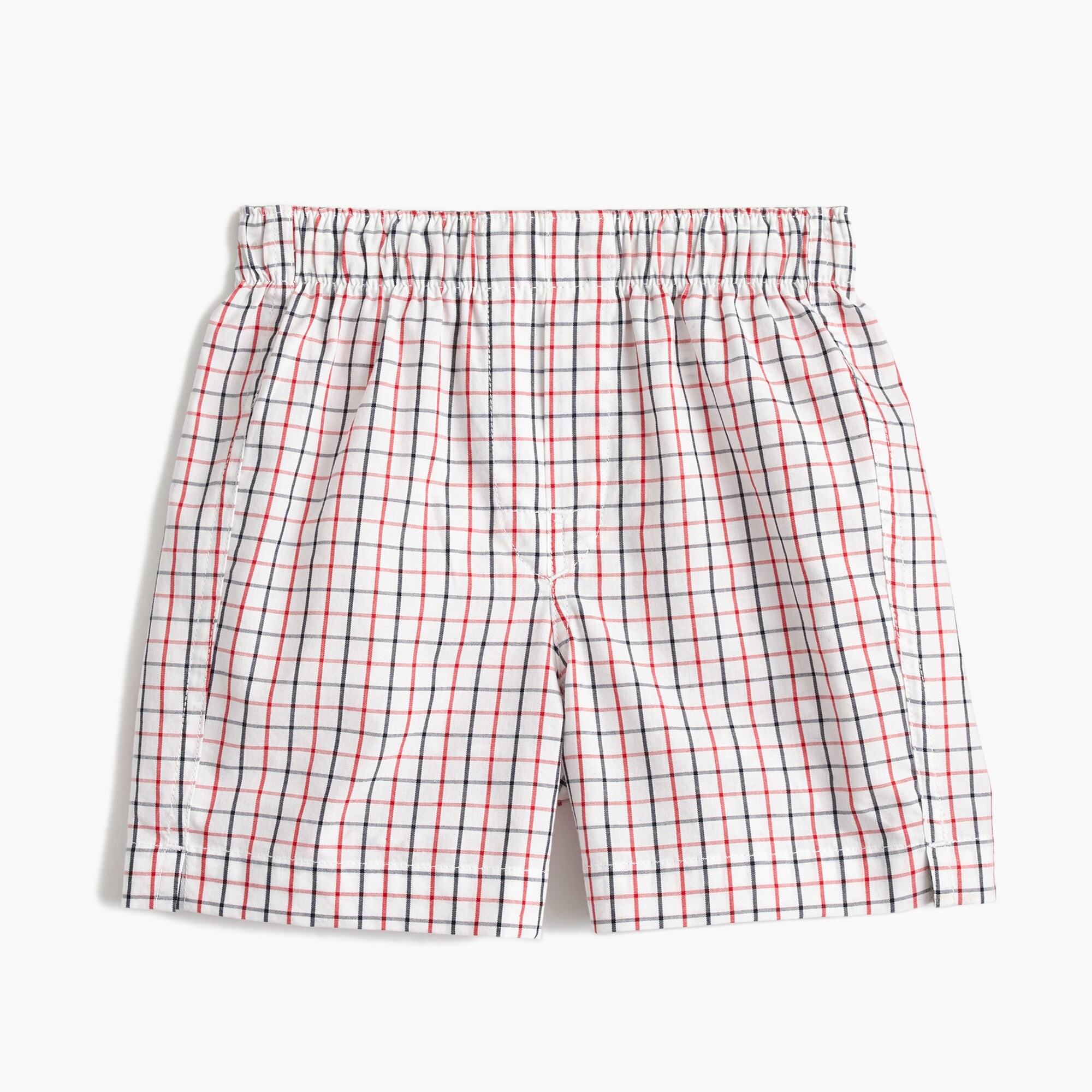 Boys' tattersall boxers
