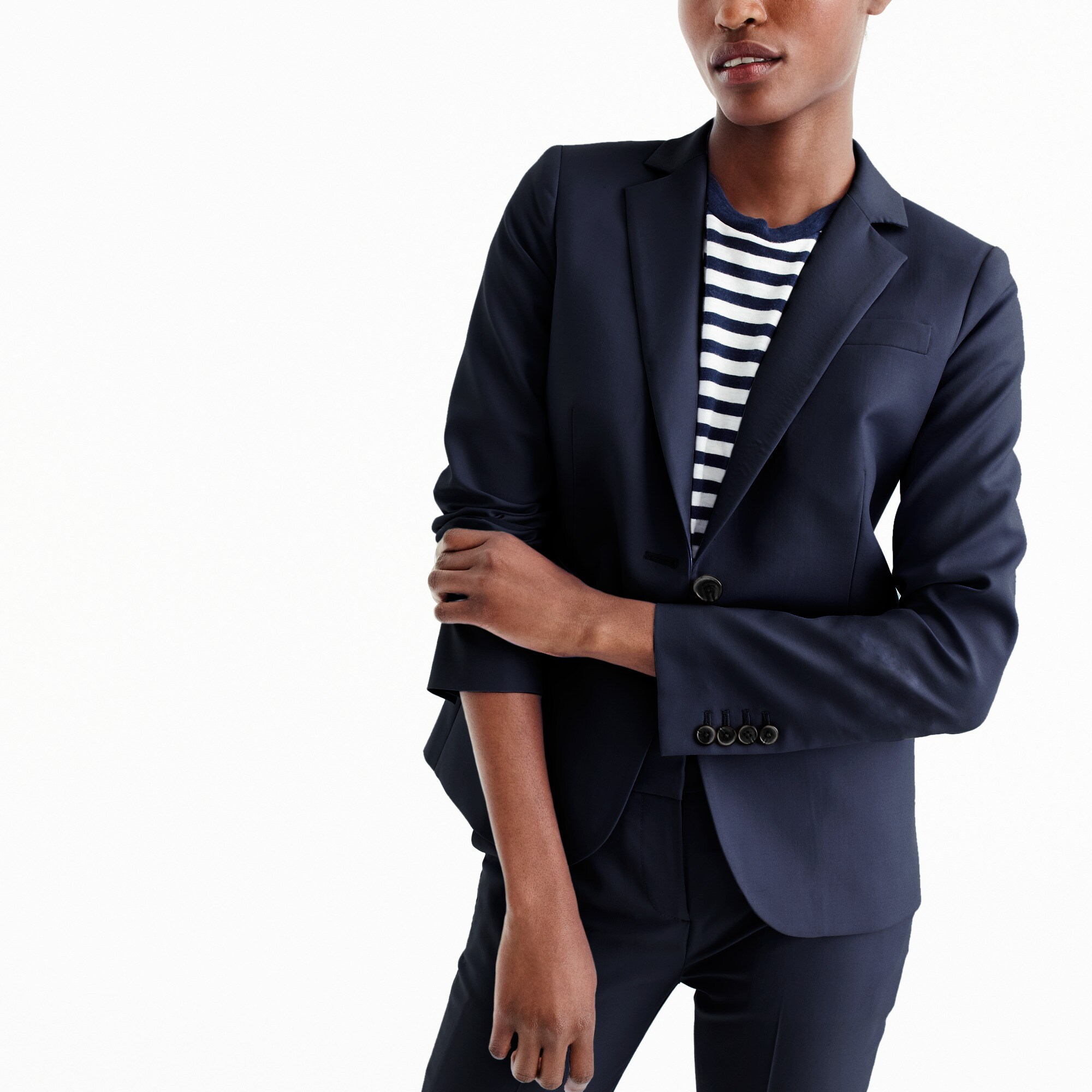 Tall tailored blazer in Italian Super 120s wool