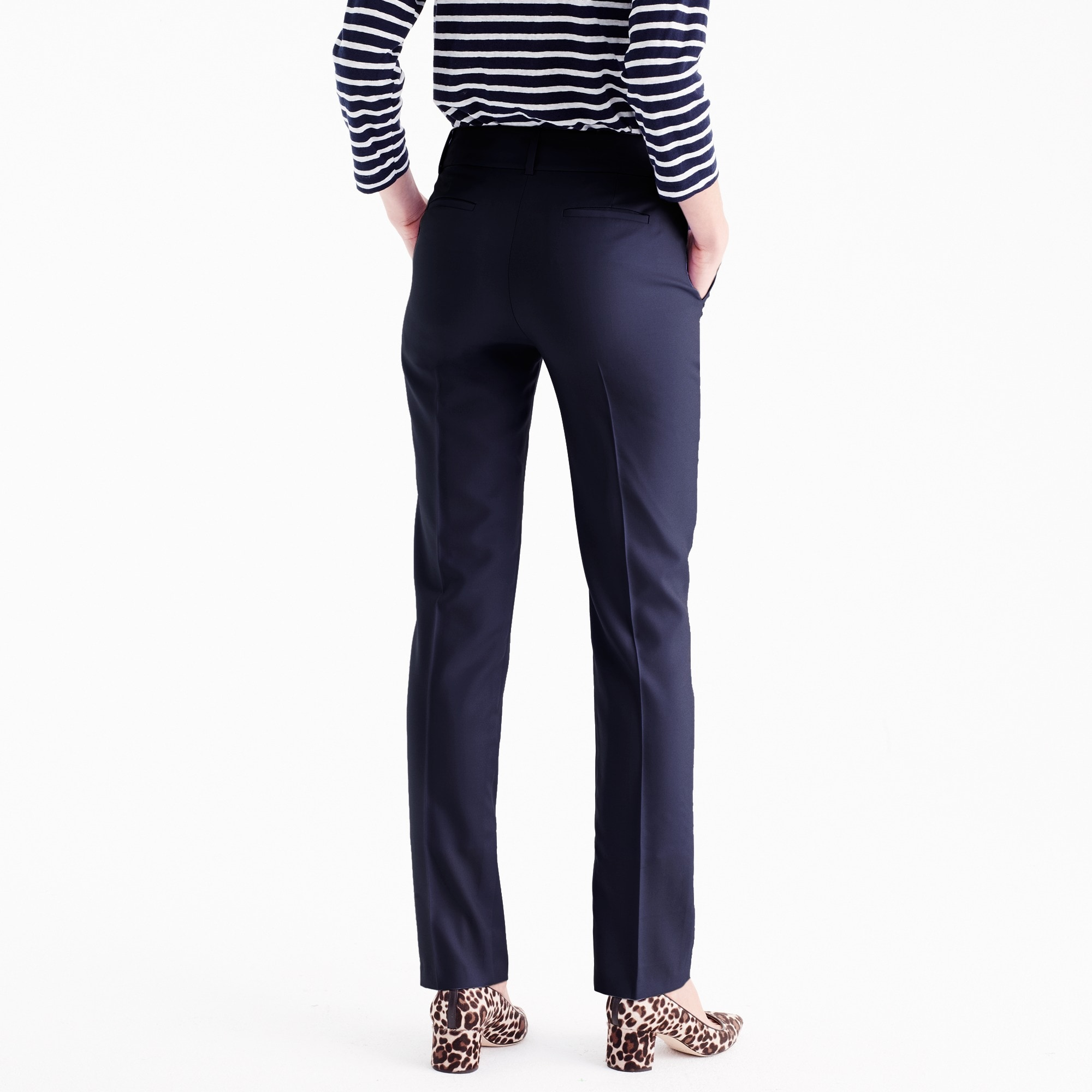 Tall tailored trouser in Italian Super 120s wool
