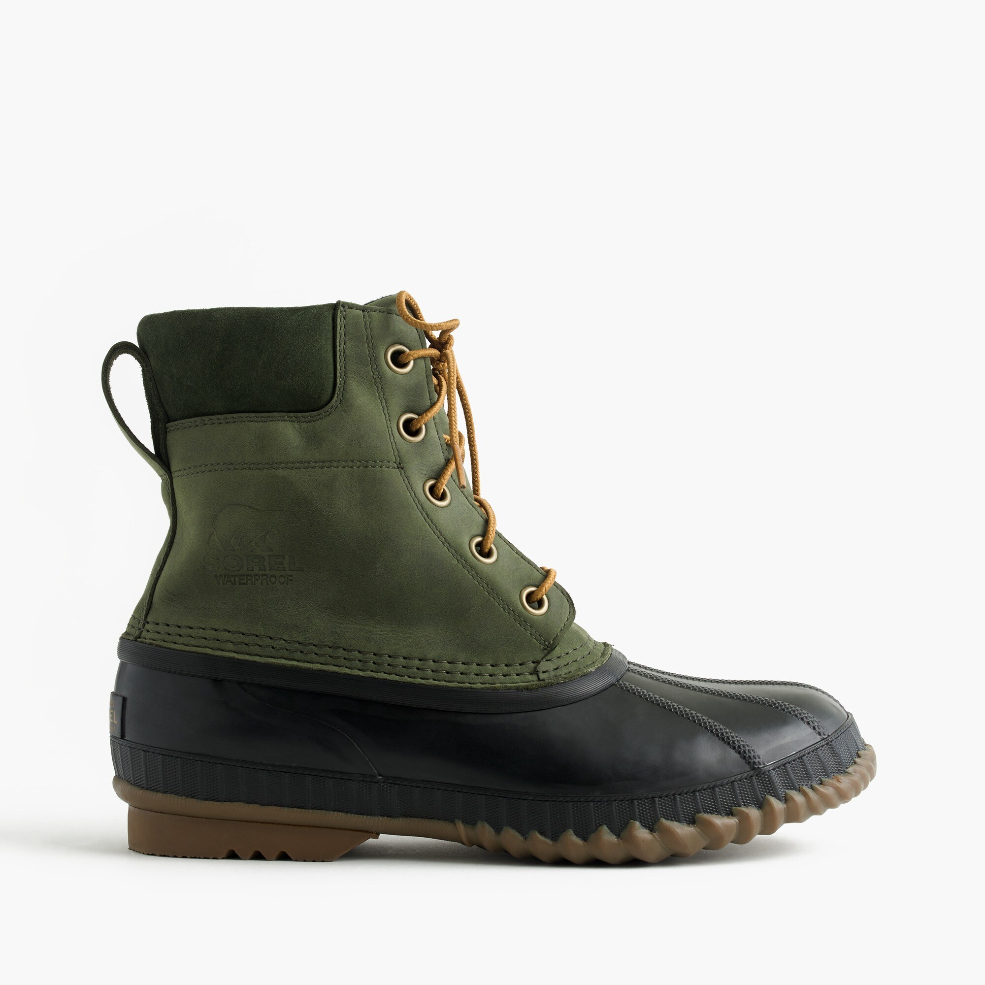 Sorel® for J.Crew Cheyanne™ boots in pine men j.crew in good company c