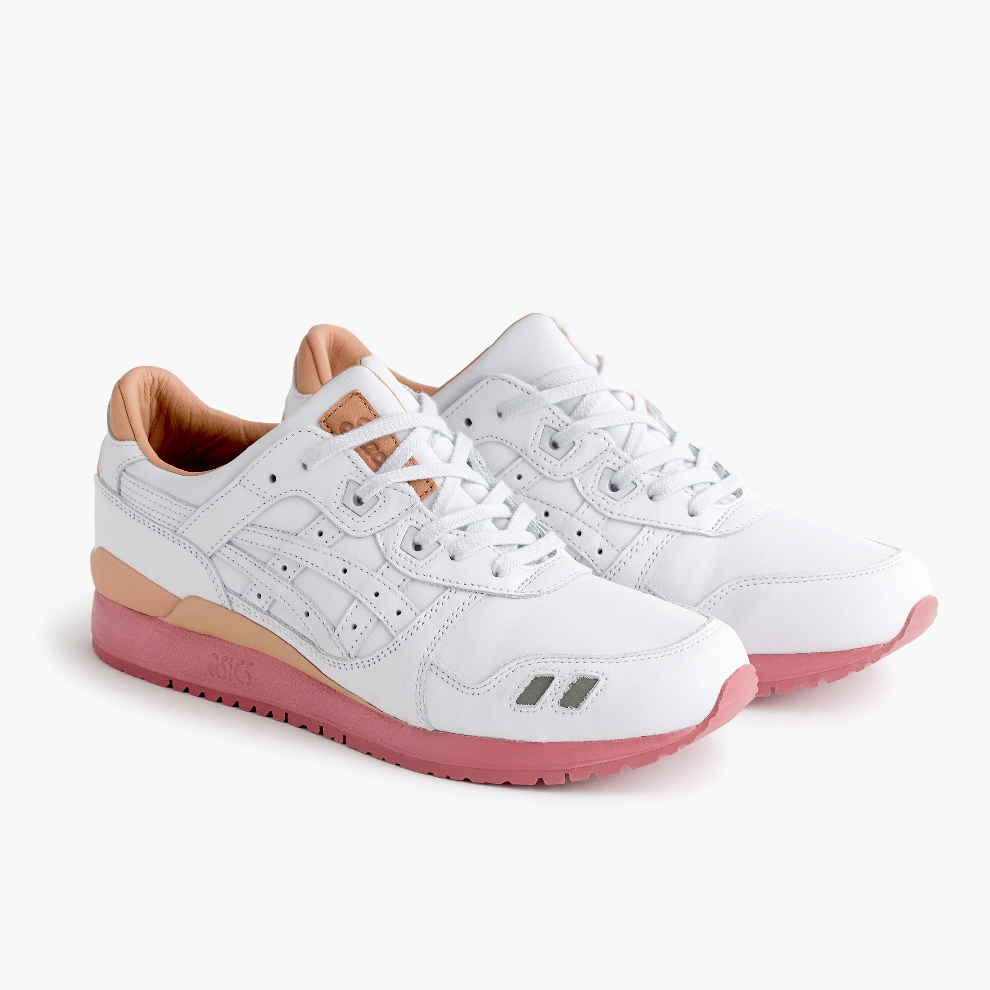Packer™ X J.Crew X ASICS Tiger™ GEL-LYTE® III White Buck sneakers men j.crew in good company c
