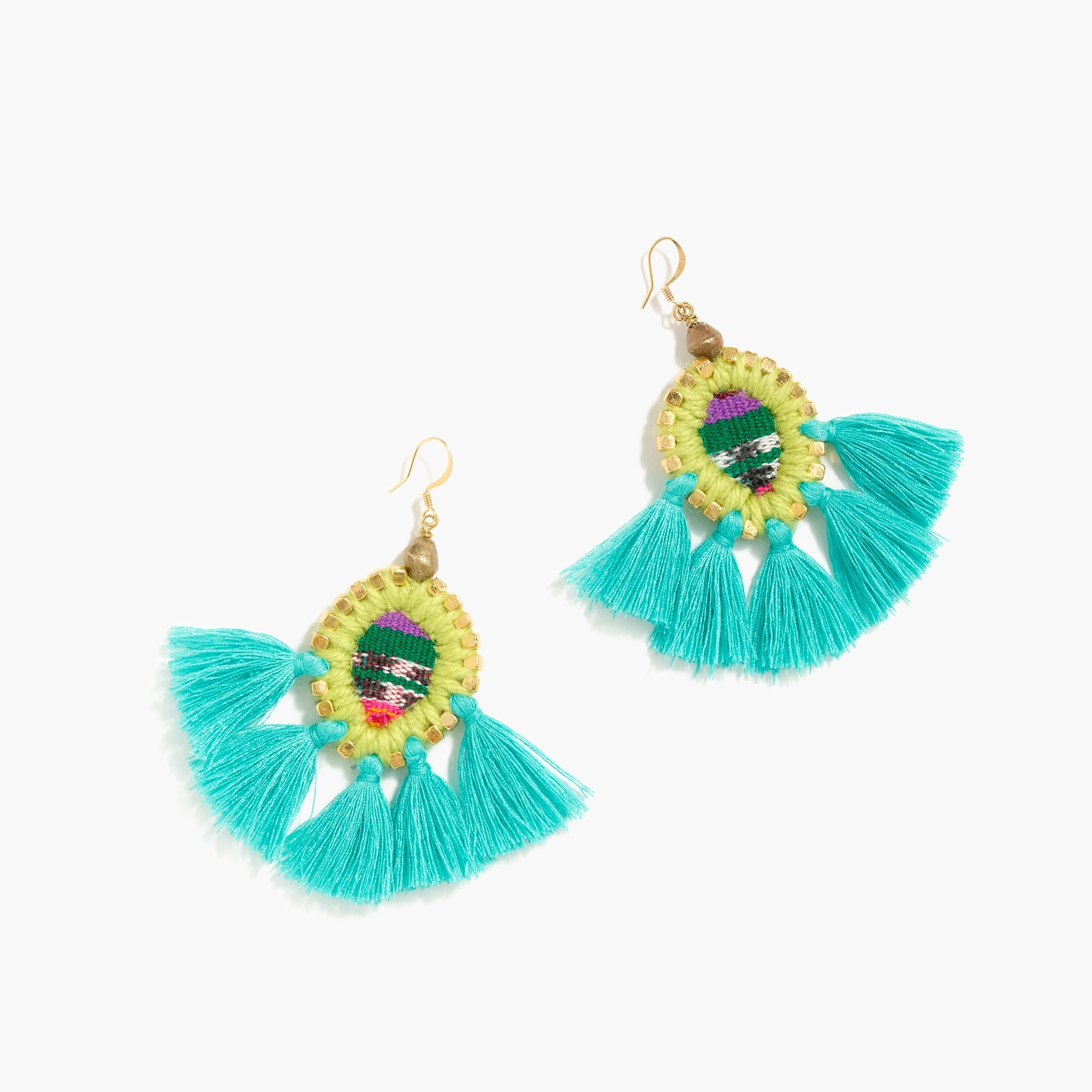 Gaia™ tassel earrings
