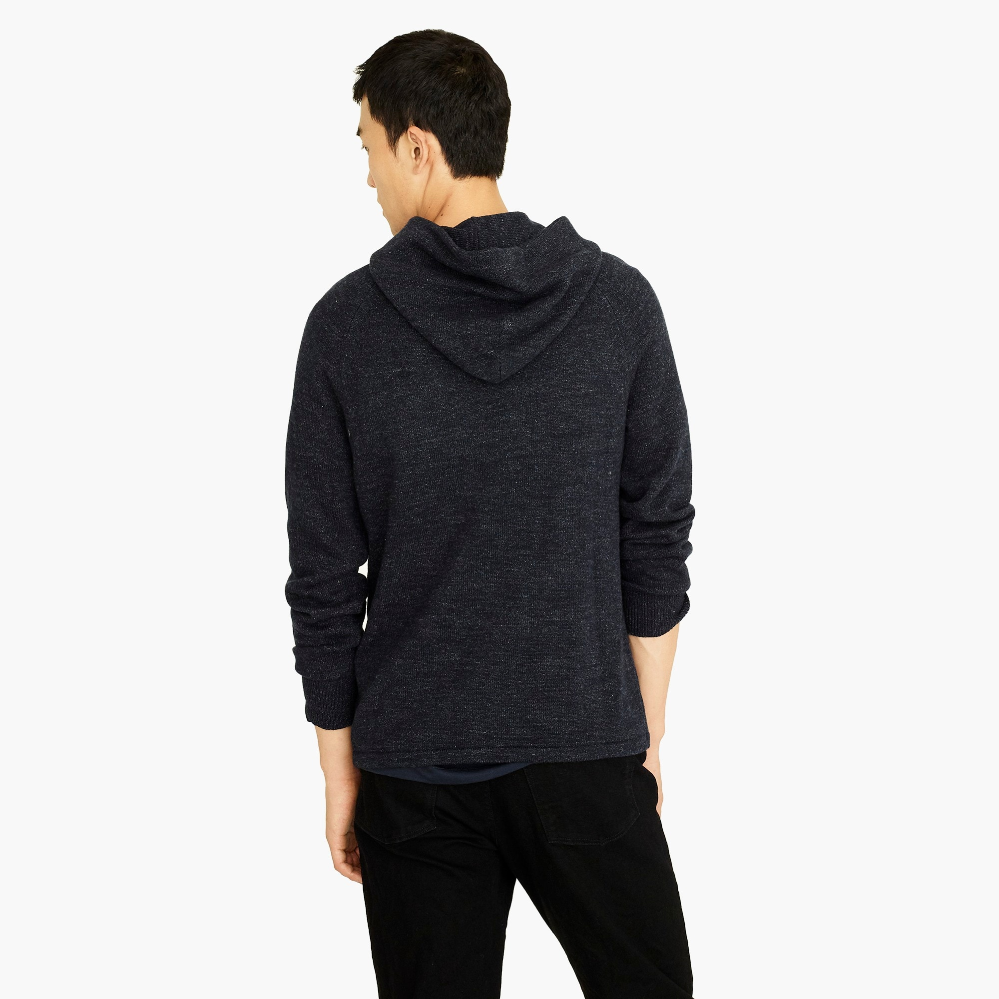 Image 3 for Cotton-wool sweater hoodie