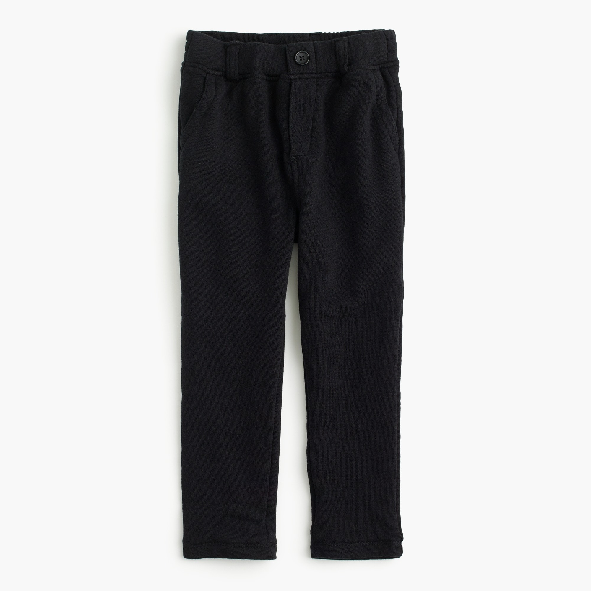 Image 2 for Boys' button-front stripe-lined sweatpants