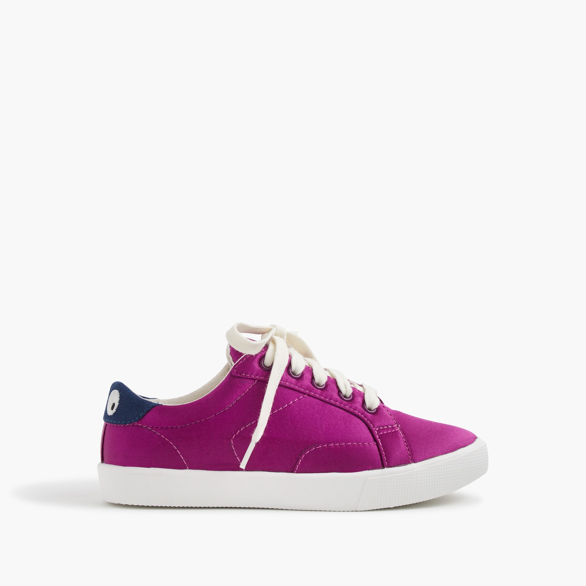 kids' satin lace up max the monster sneakers : girl shoes & sneakers