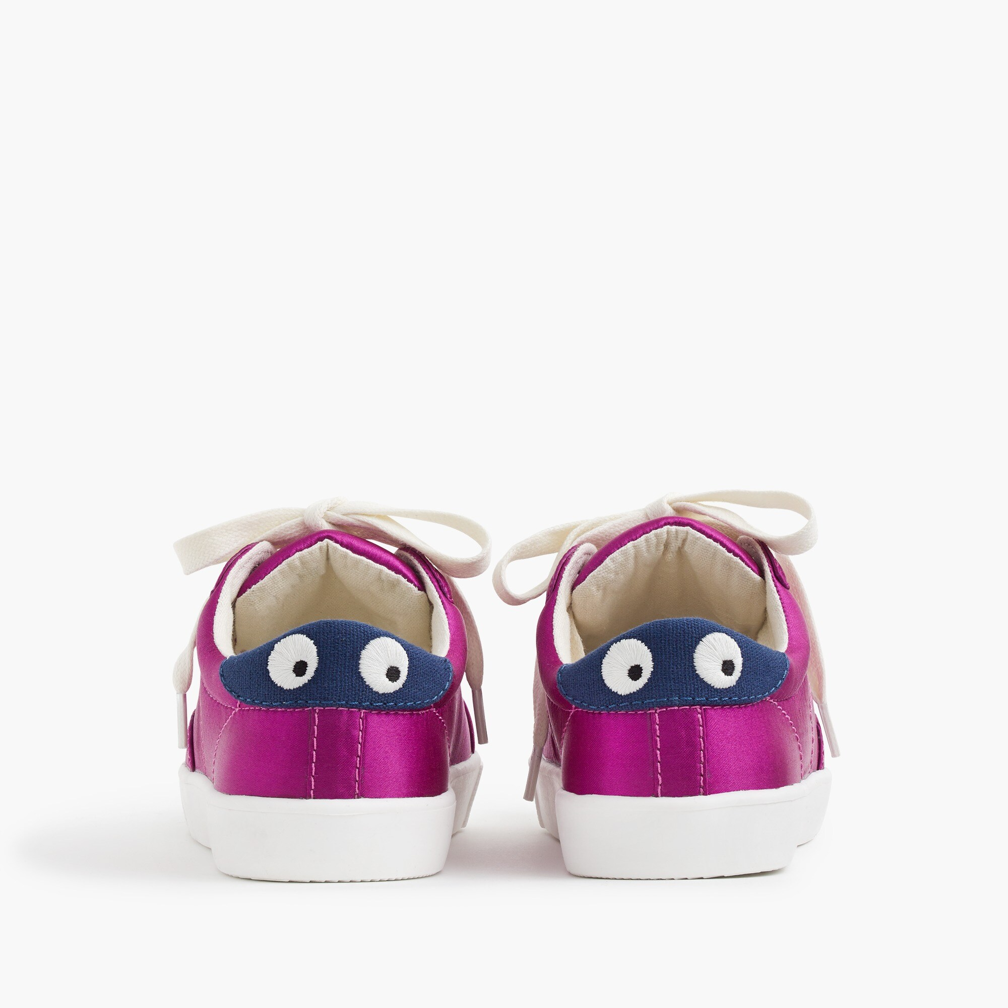 Image 3 for Kids' satin lace up Max the Monster sneakers