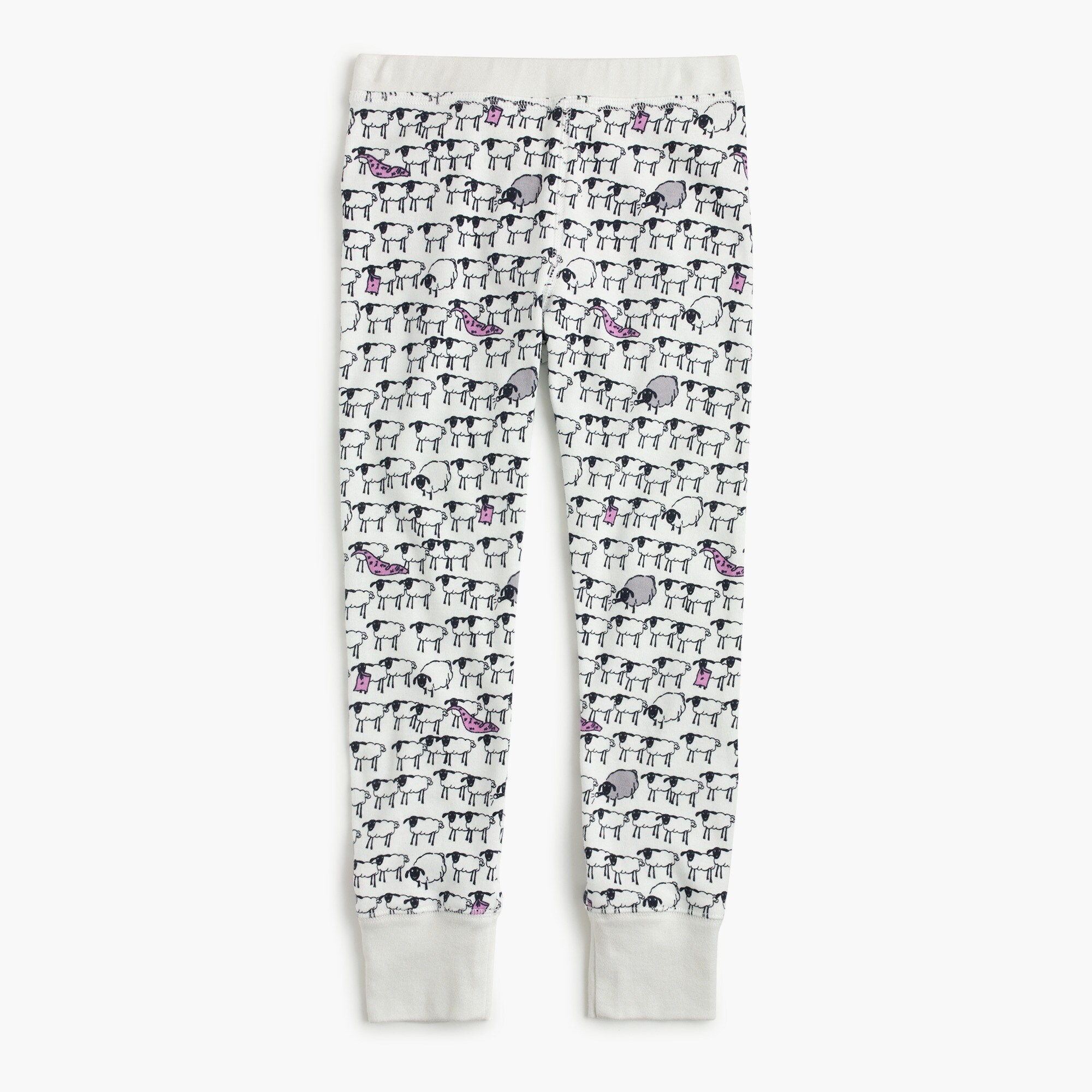 Kids' pajama set in sheep