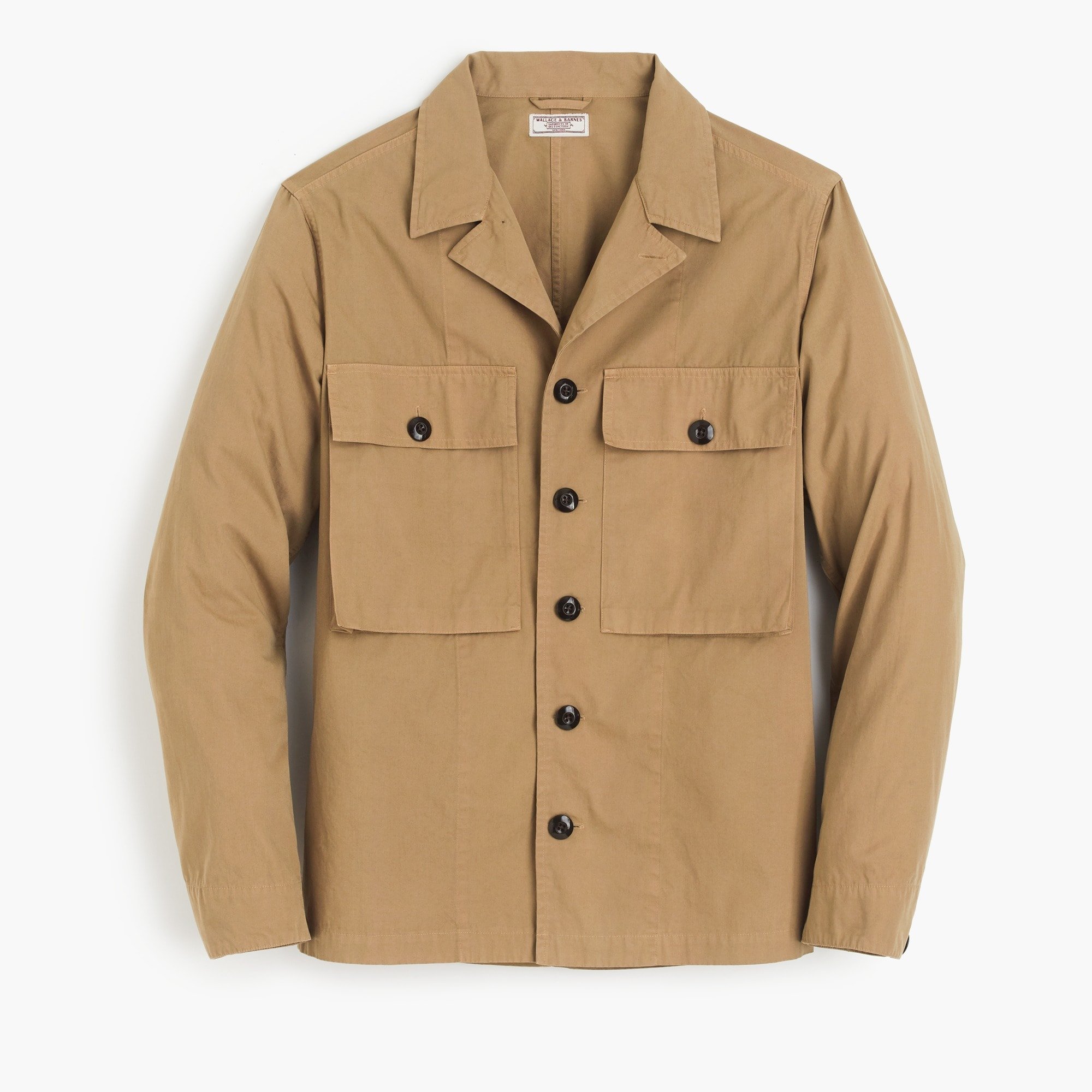 Wallace & Barnes military jacket in khaki
