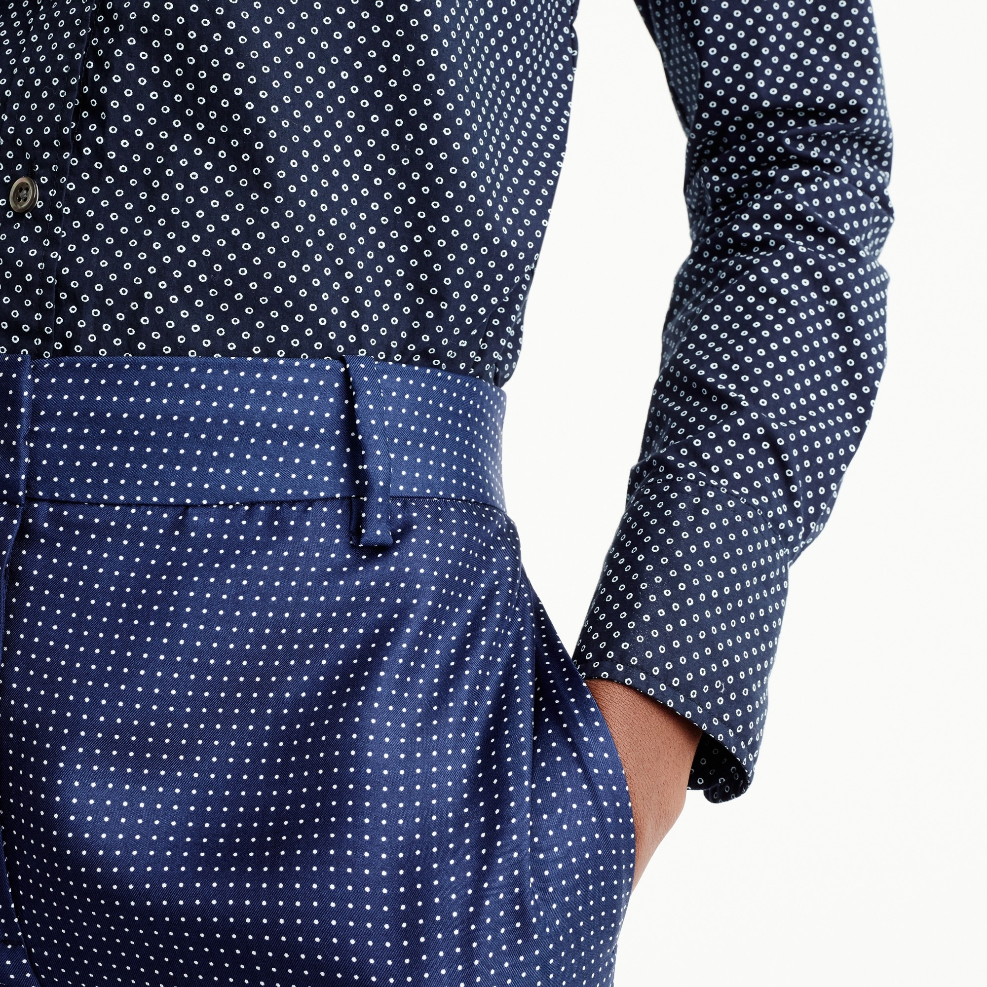Petite Perfect shirt in polka dot