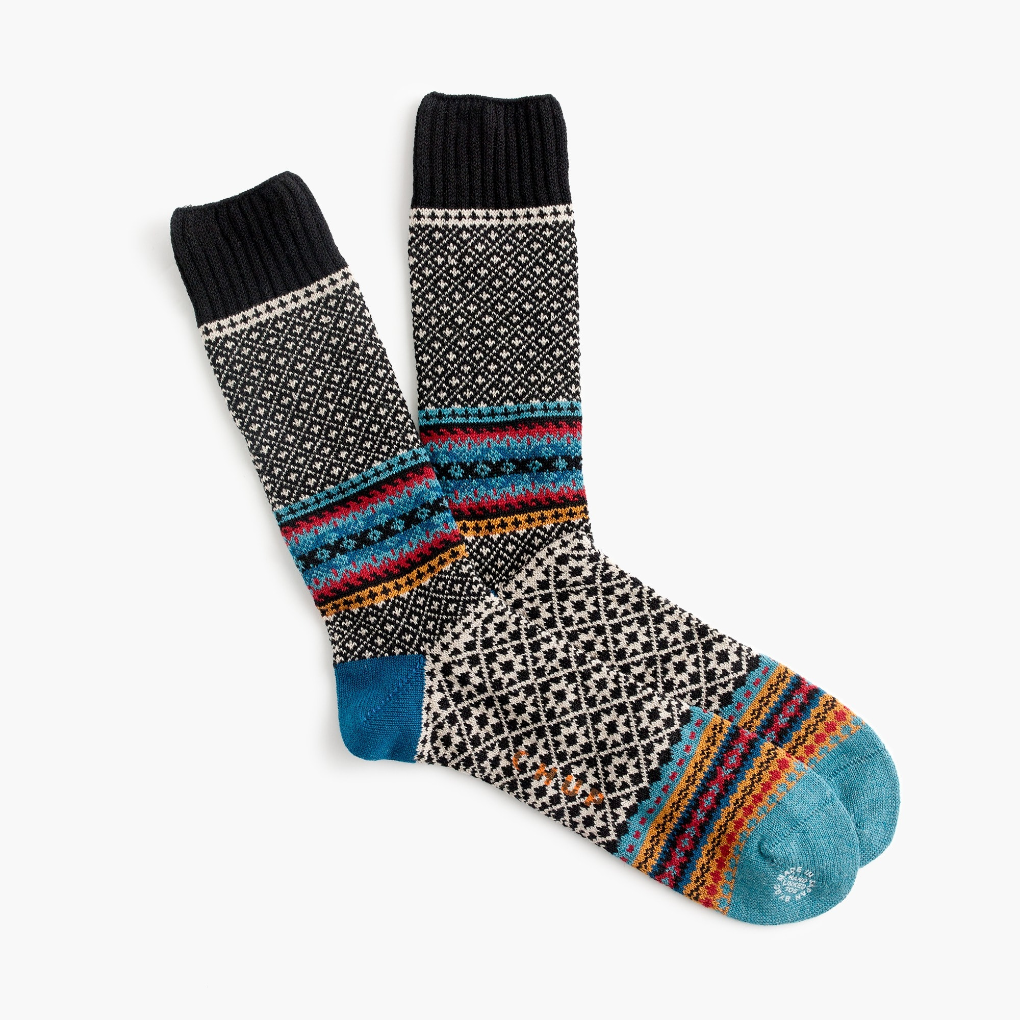 Chup™ multi-pattern socks men j.crew in good company c