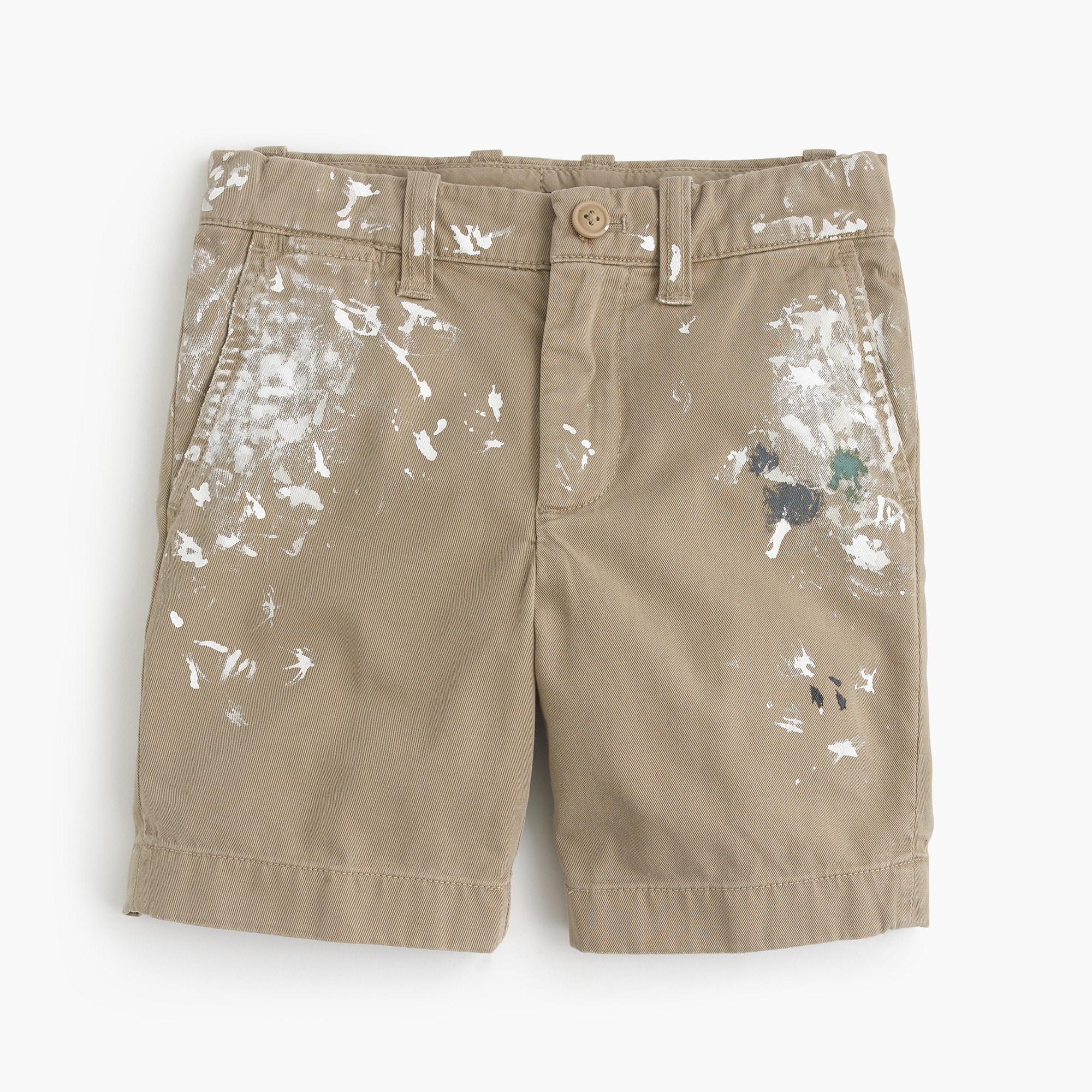 Boys' limited-edition paint splattered Stanton shorts