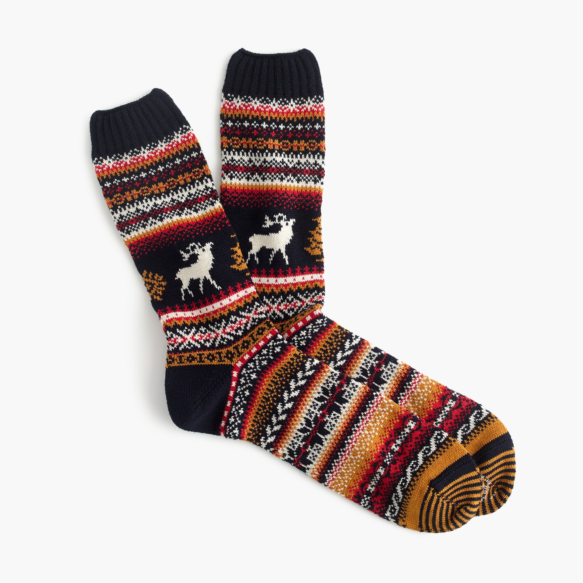 Chup™ moose socks men j.crew in good company c