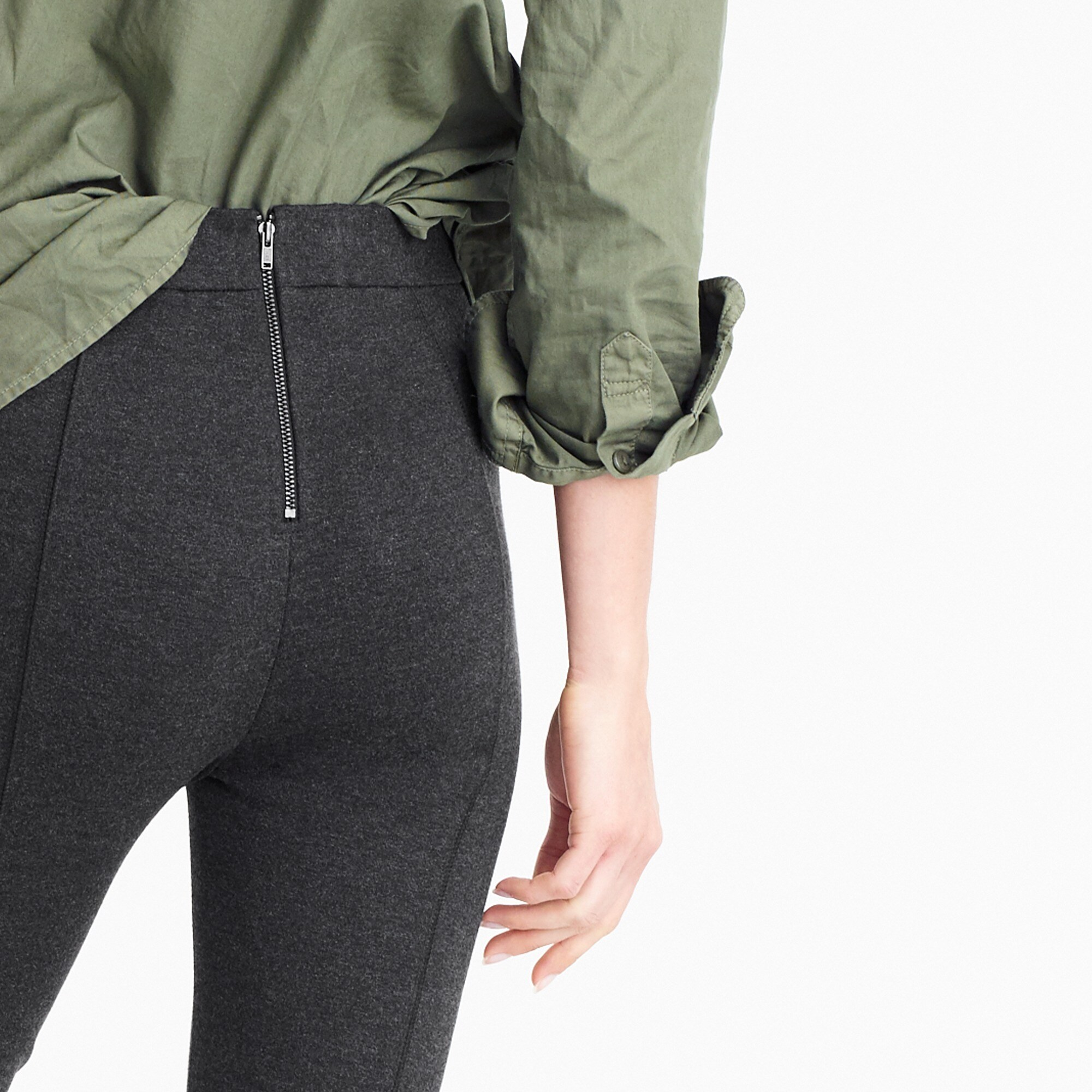 Image 3 for Any day pant in stretch ponte