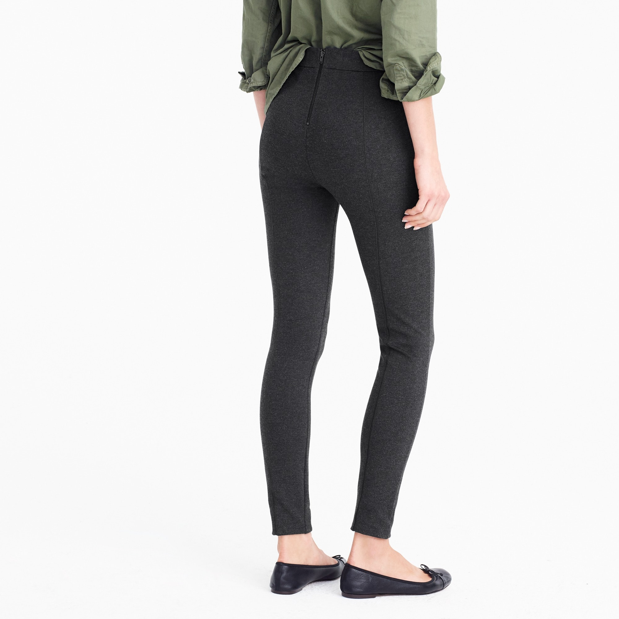 Petite Any day pant in stretch ponte