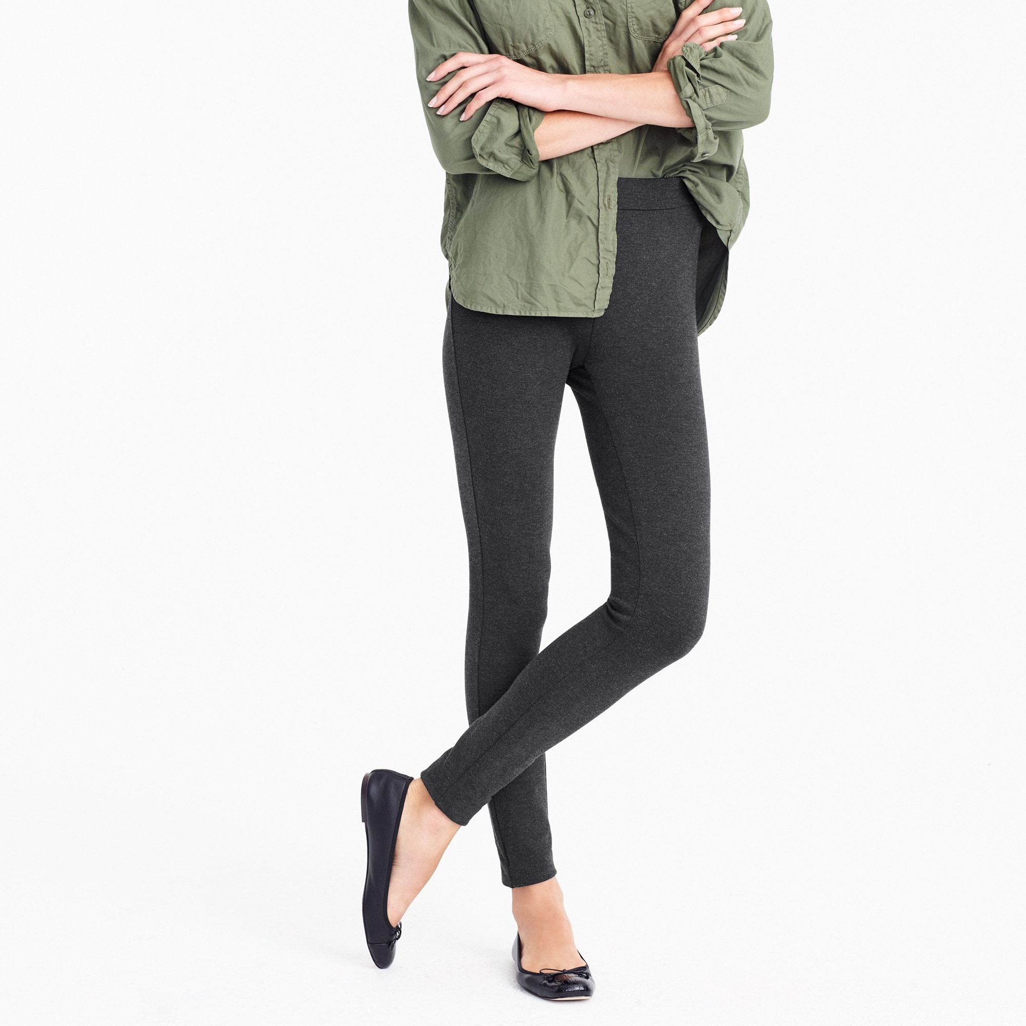 Image 1 for Any day pant in stretch ponte