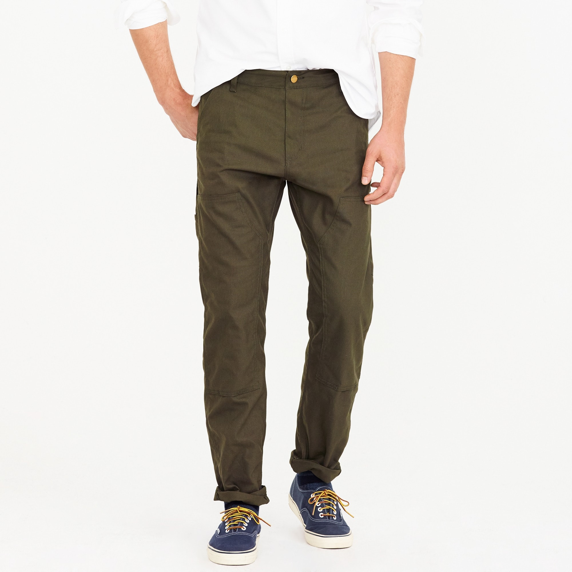 Carhartt® Work in Progress pant in dark navy men j.crew in good company c