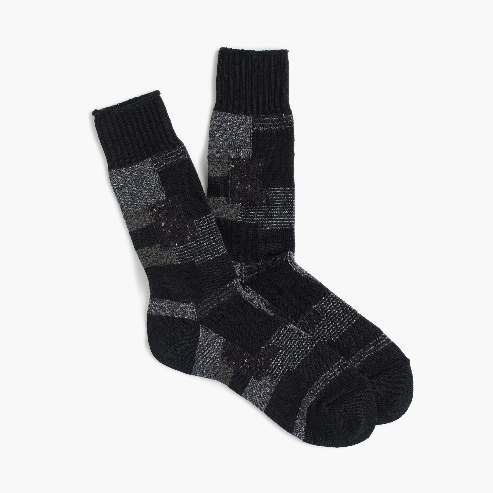 Anonymous Ism™ patchwork socks men socks c