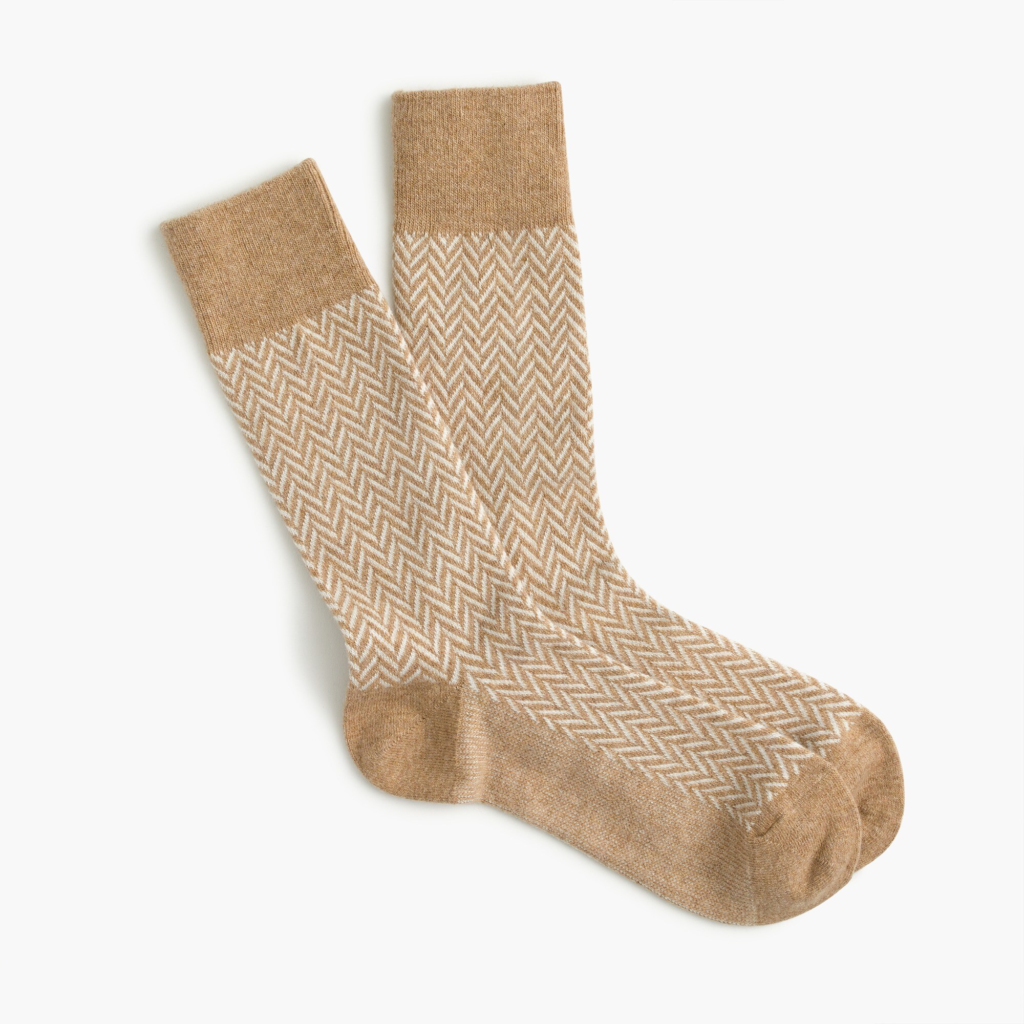 mens Anonymous Ism™ wool herringbone crew socks
