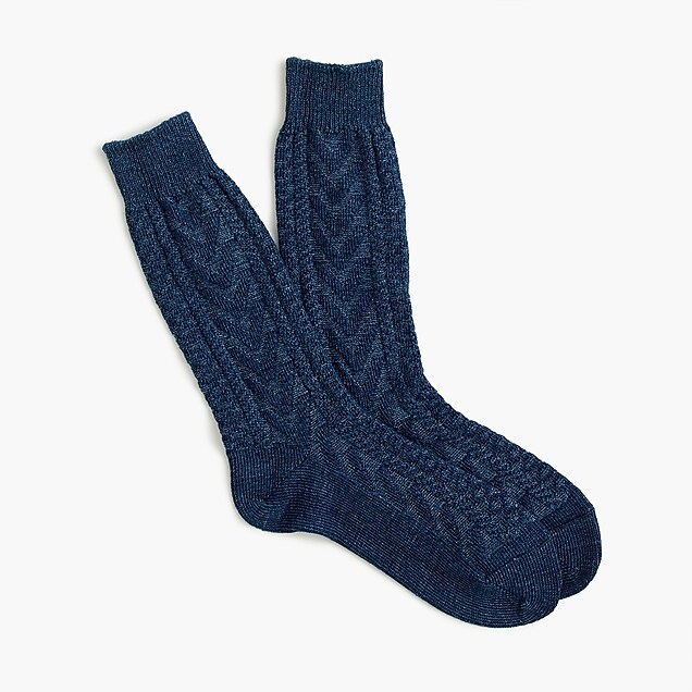 Anonymous Ism™ cable-knit socks
