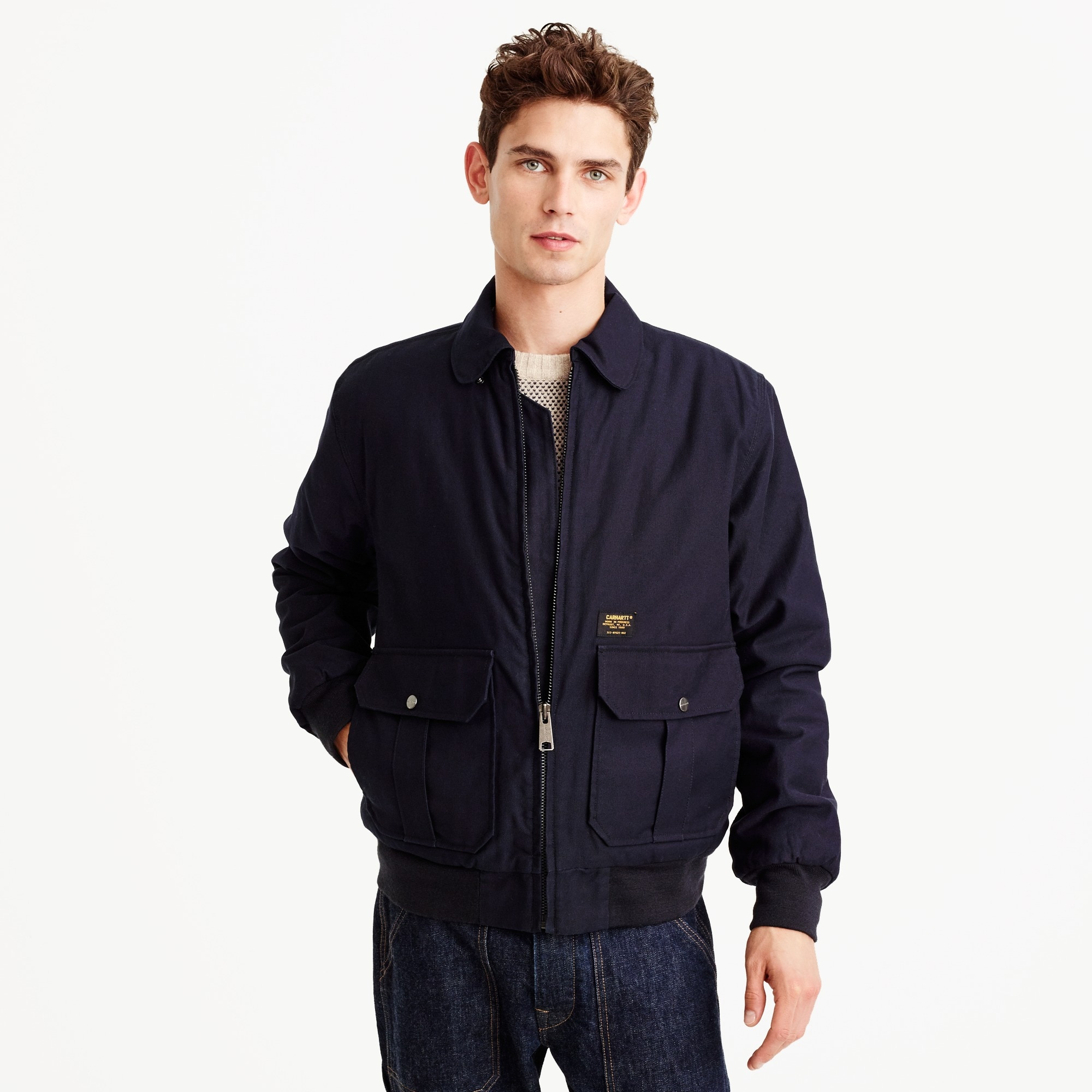 Carhartt® Work In Progress aviator jacket men j.crew in good company c