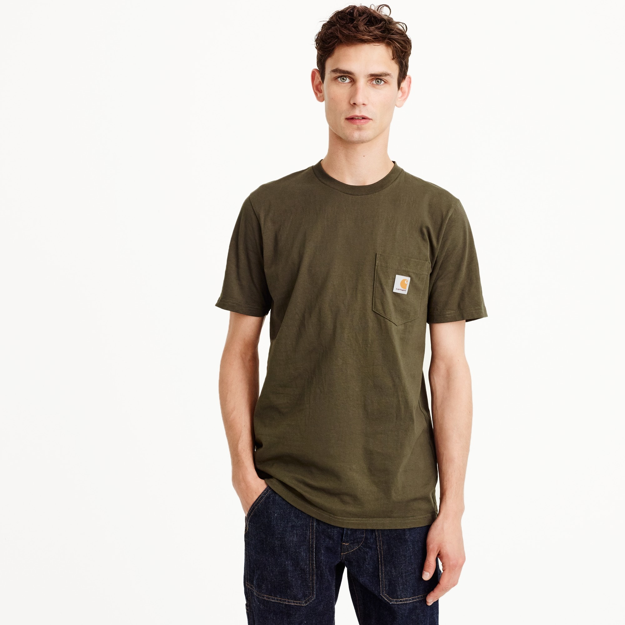 Carhartt® Work in Progress pocket T-shirt men j.crew in good company c