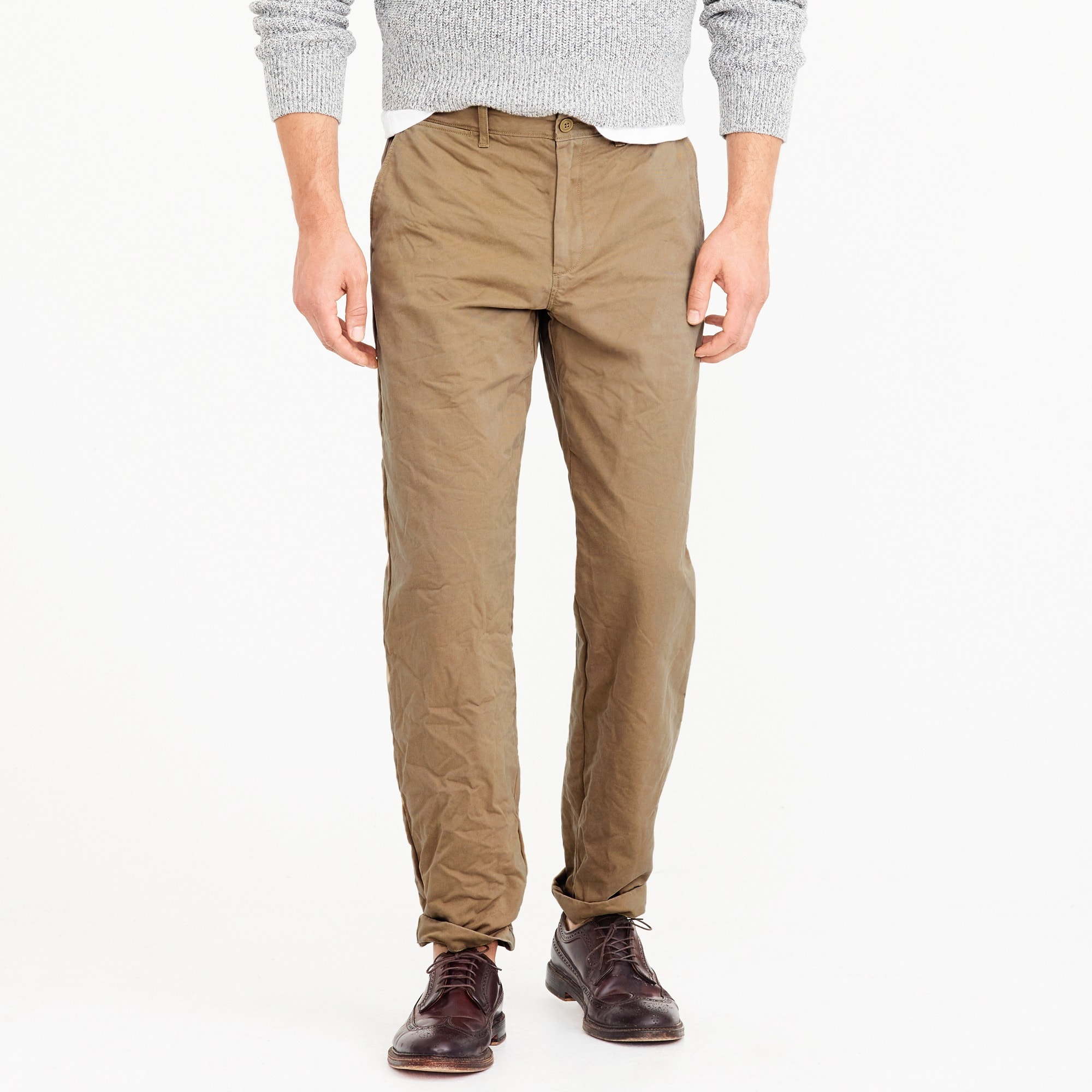 Broken-in chino pant in 1450 relaxed fit men pants c