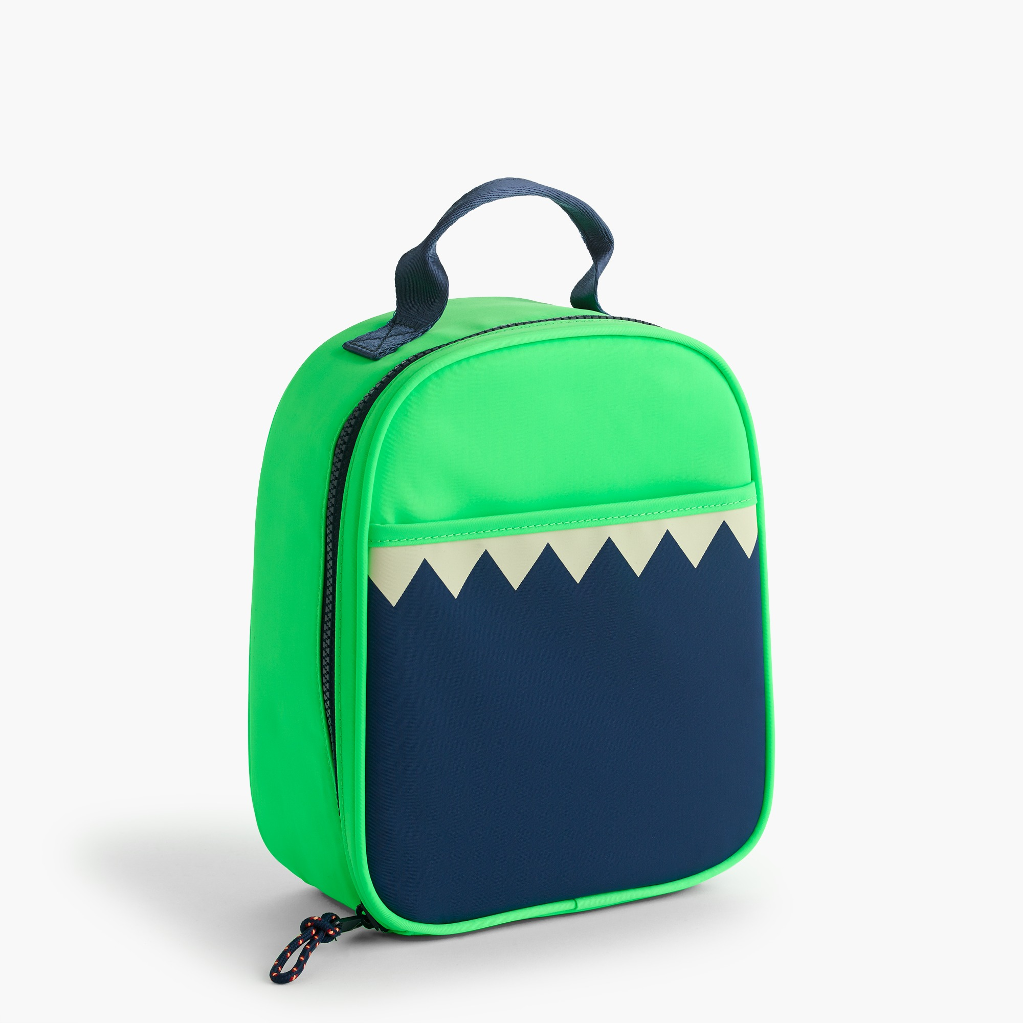 Kids' glow-in-the-dark snaggletooth monster lunch box