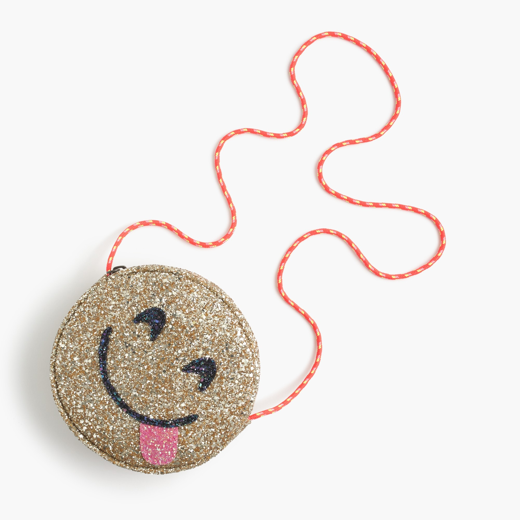 Image 1 for Girls' glitter bag in yummy emoji